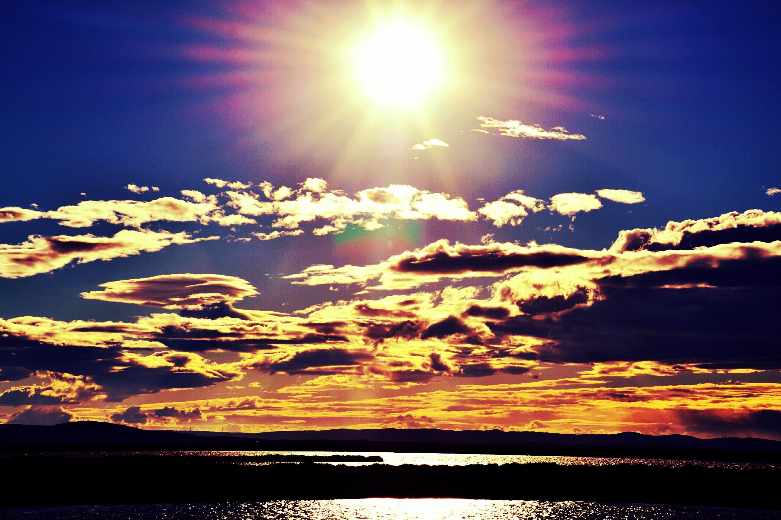 Картинку красивый восход солнца на лабе