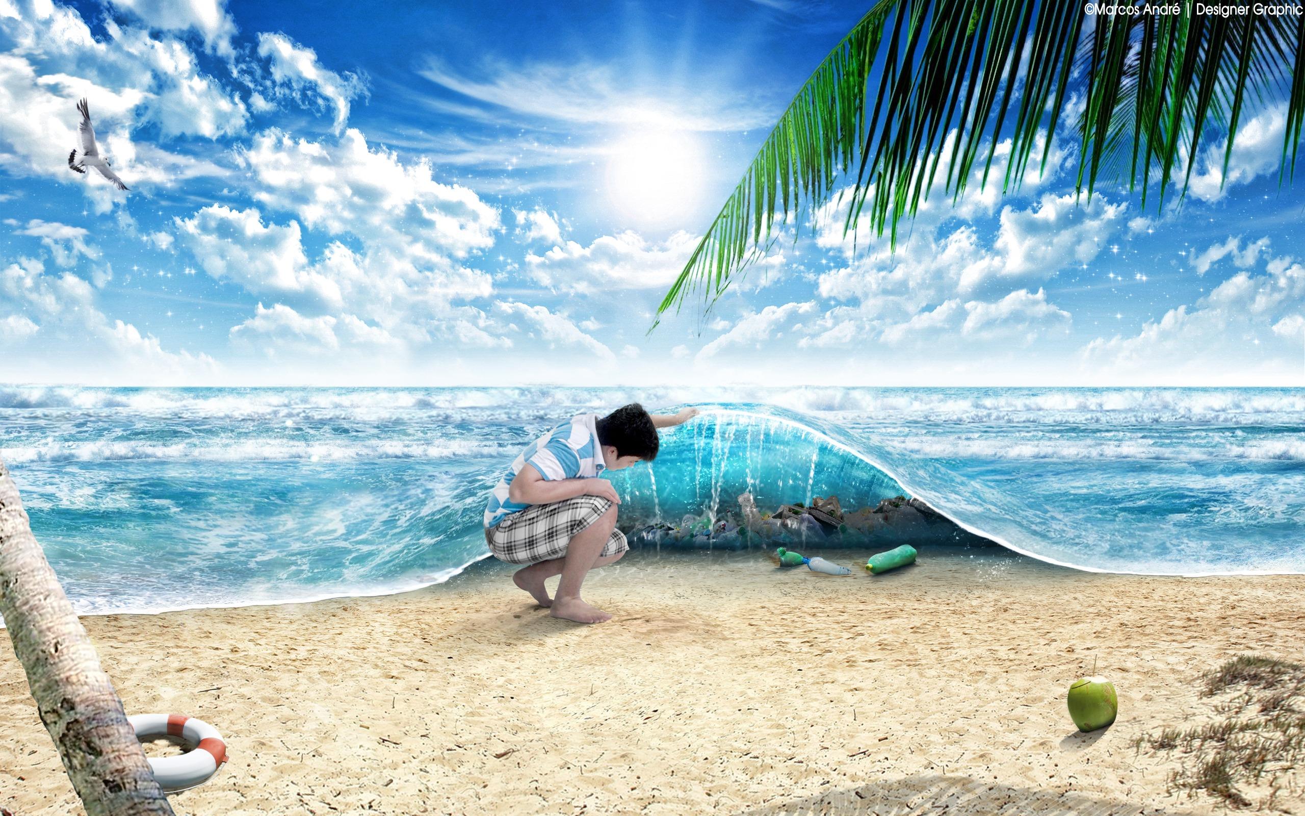 Images gratuites plage paysage mer arbre la nature for Materiel et paysage