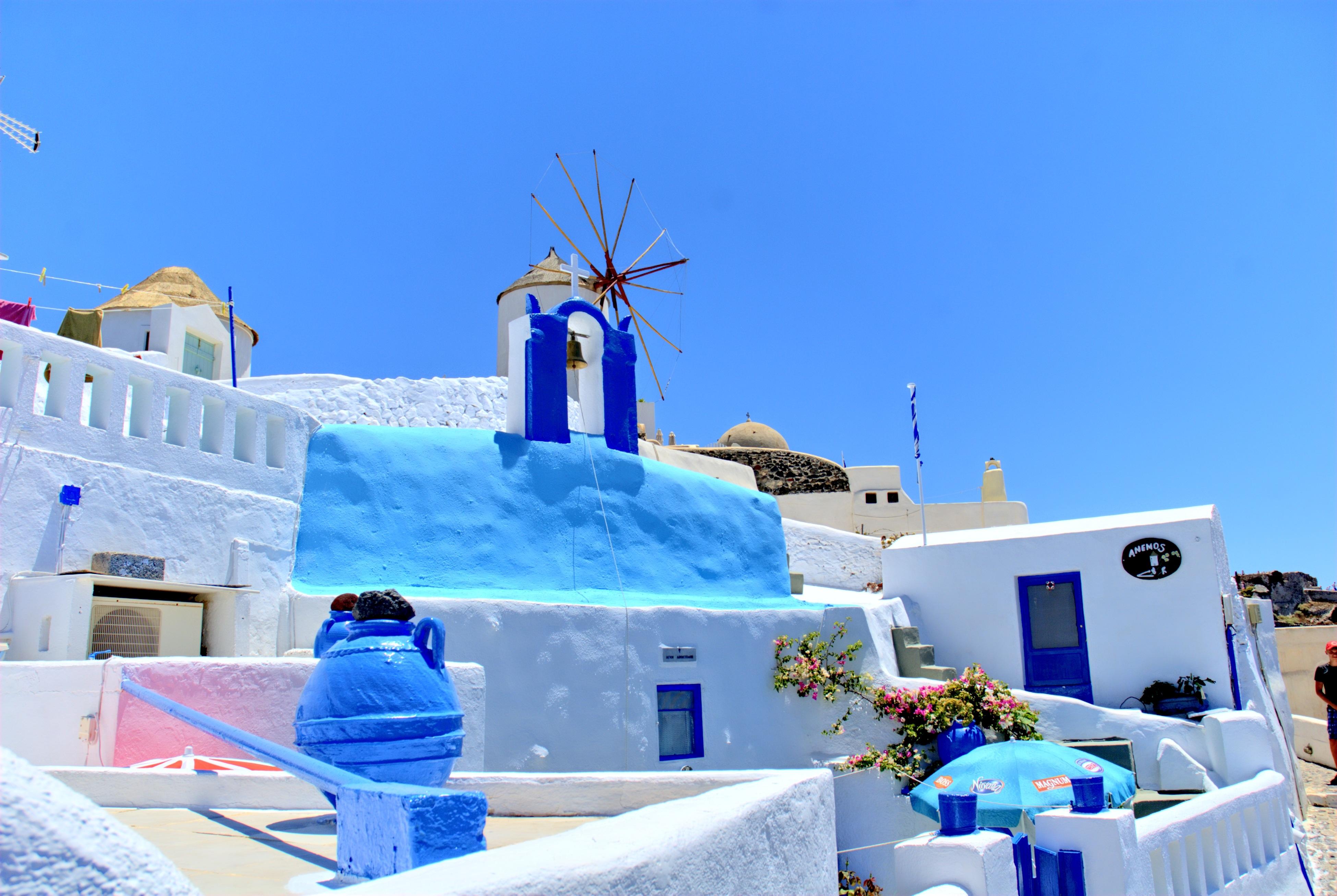 playa paisaje mar agua naturaleza verano vacaciones fiesta azul santorini recurso vacaciones grecia parque acuatico el