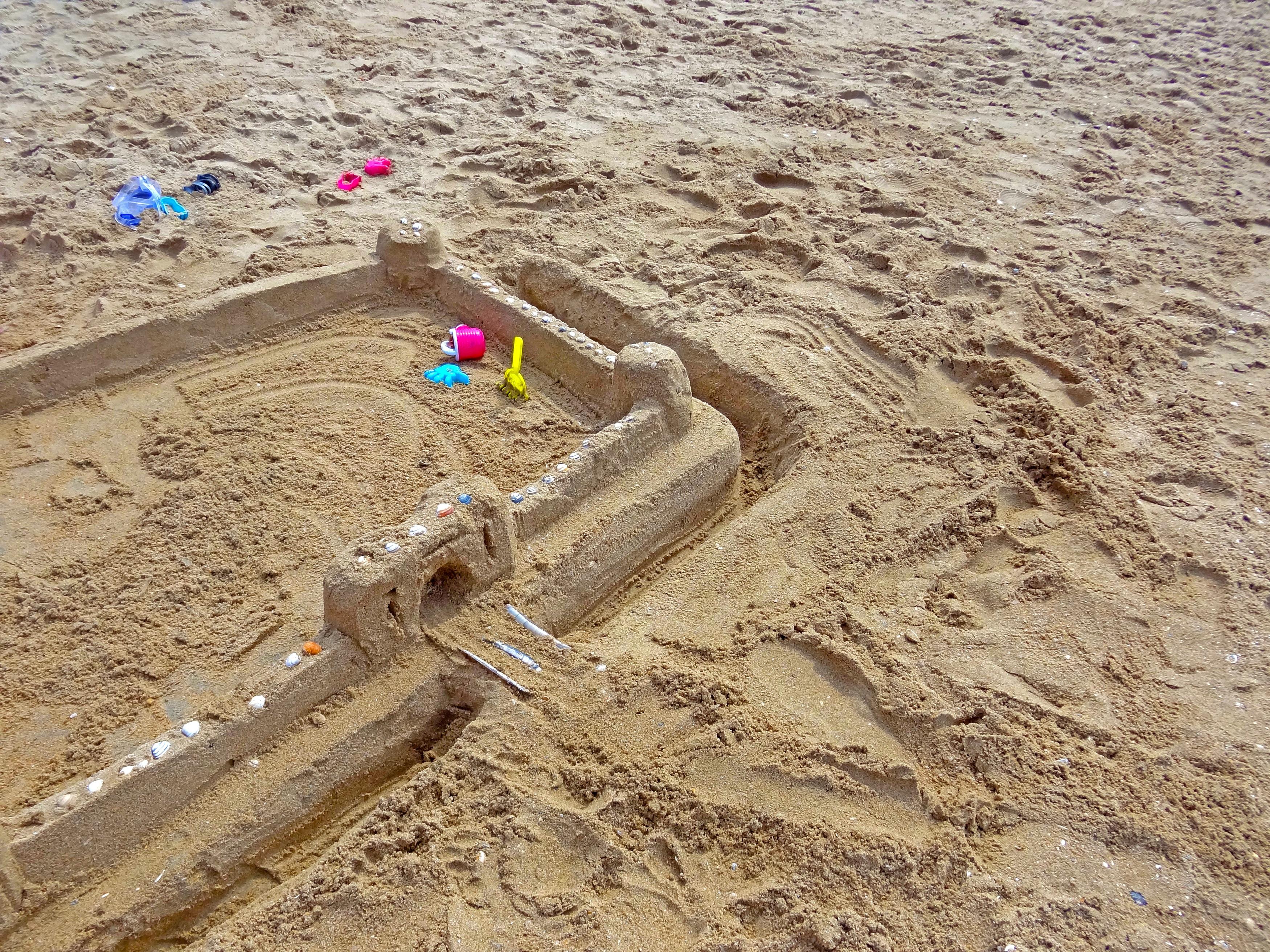 Beach Sand Construction Mud Holiday Soil Material Bucket Children Holidays Blade Rake Sandburg