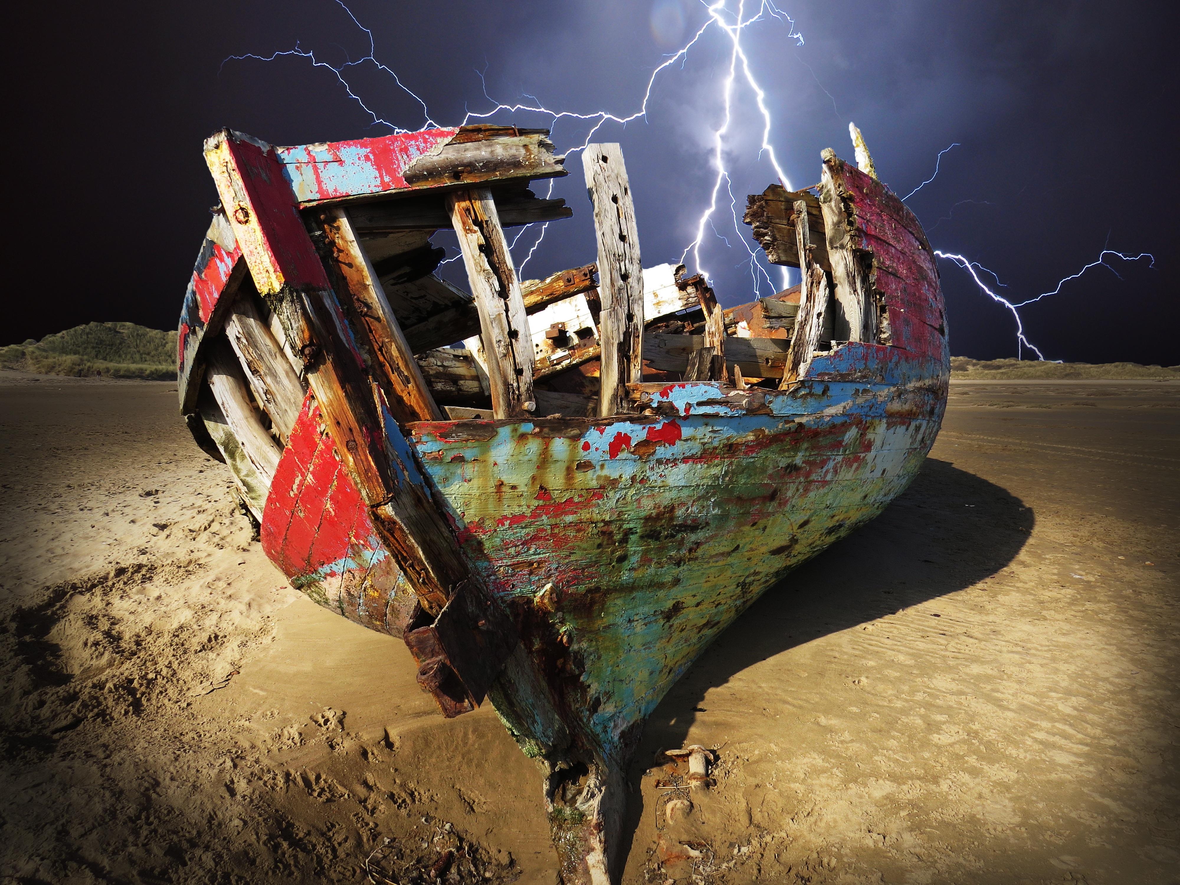 Kostenlose foto : Strand, Meer, Boot, Jahrgang, Fahrzeug, Farbe ...