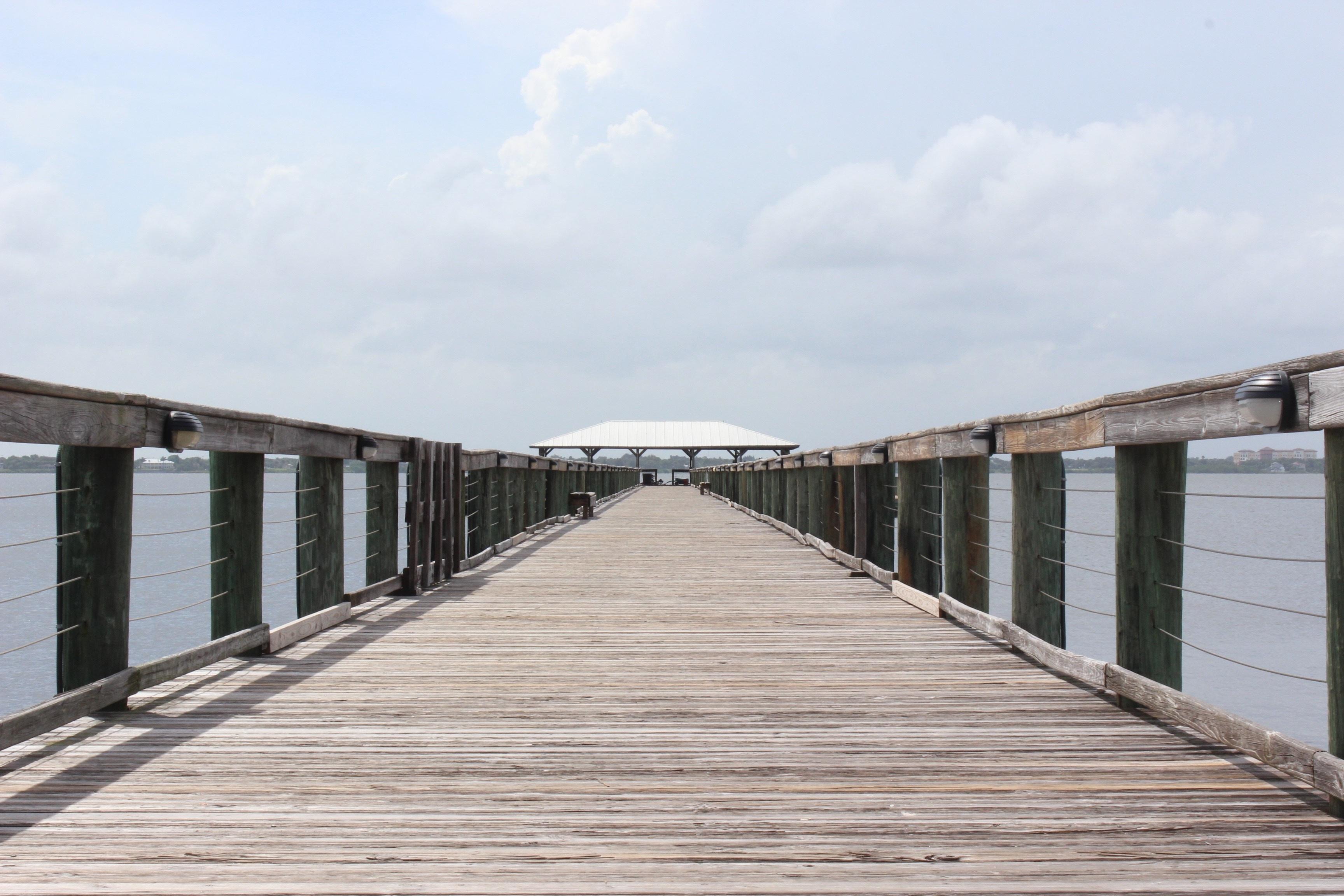 Free Images : beach, sea, coast, ocean, dock, boardwalk ...