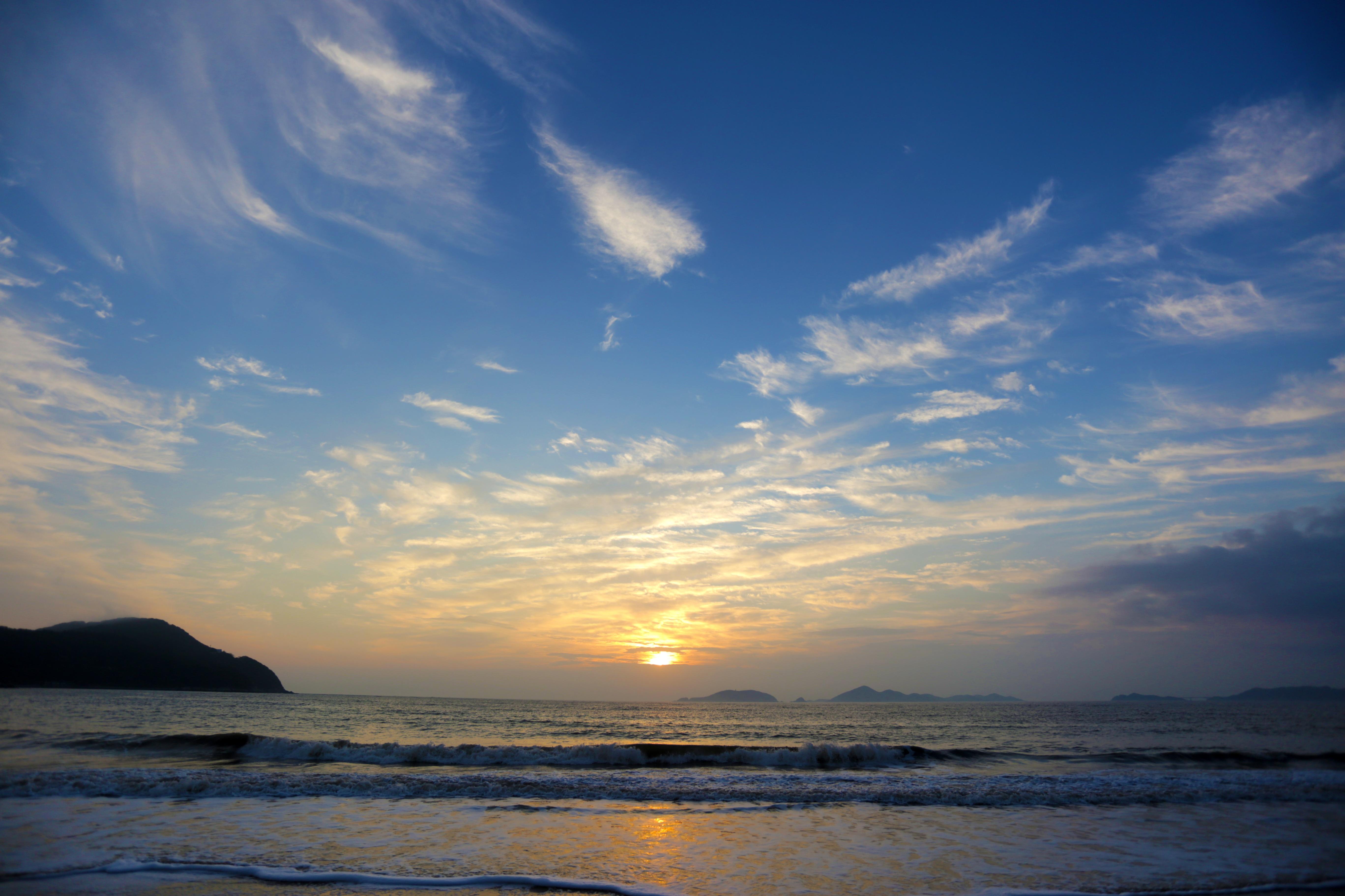 Free Images : Beach, Sea, Coast, Ocean, Horizon, Cloud