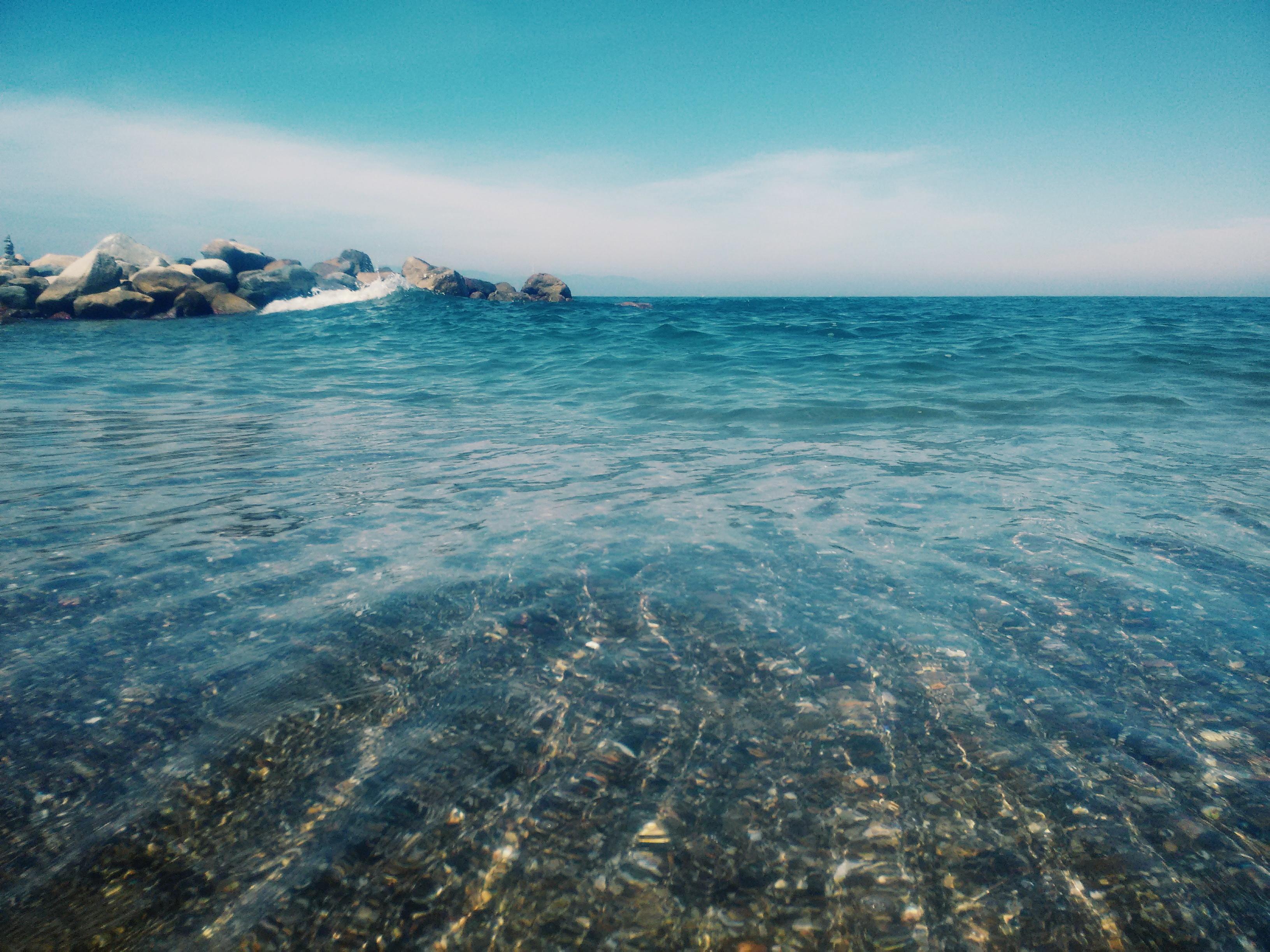 Картинки море прозрачная вода