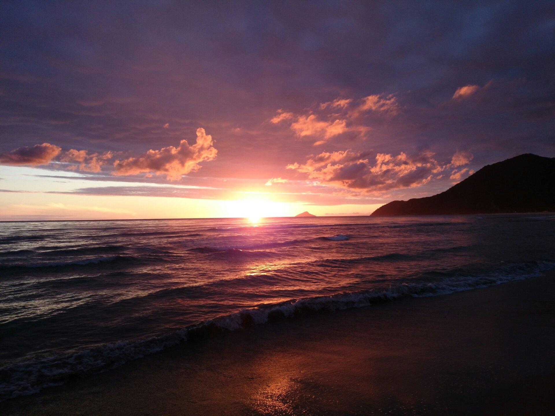 яркий картинка закат океан издавна применялся народной