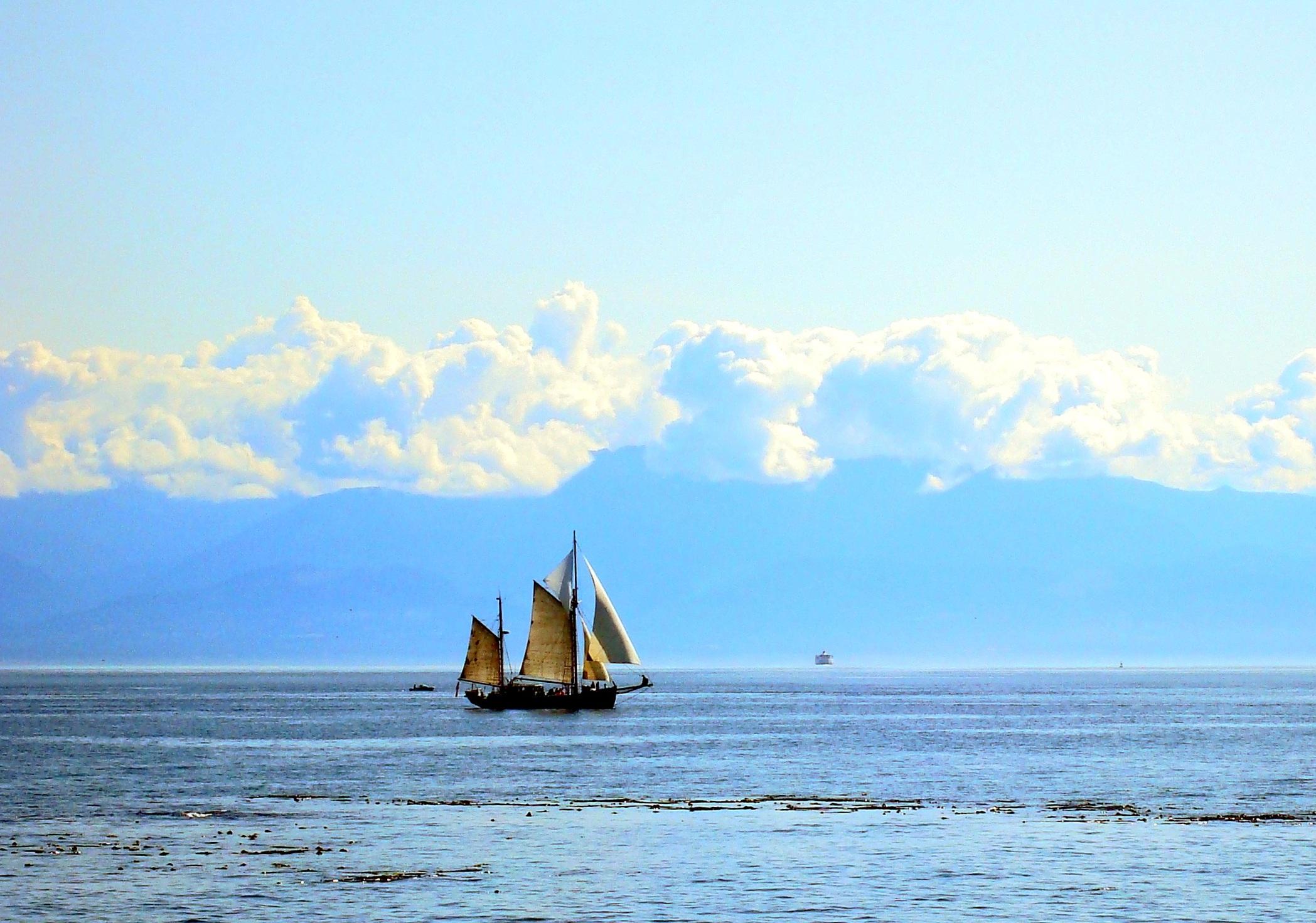 Фотографии парусников и морских пейзажей