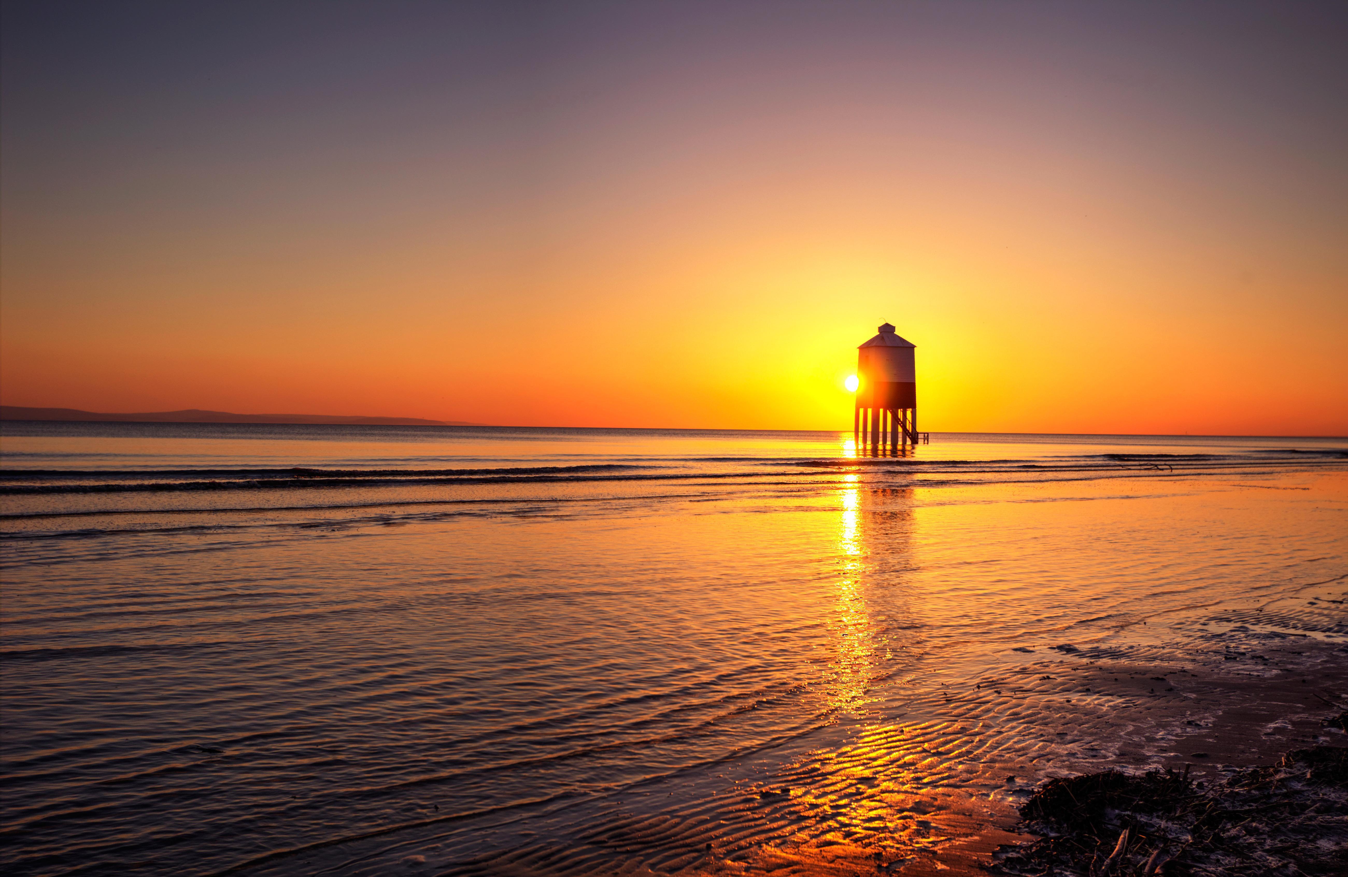 это картинки море рассветы и закаты бобовым