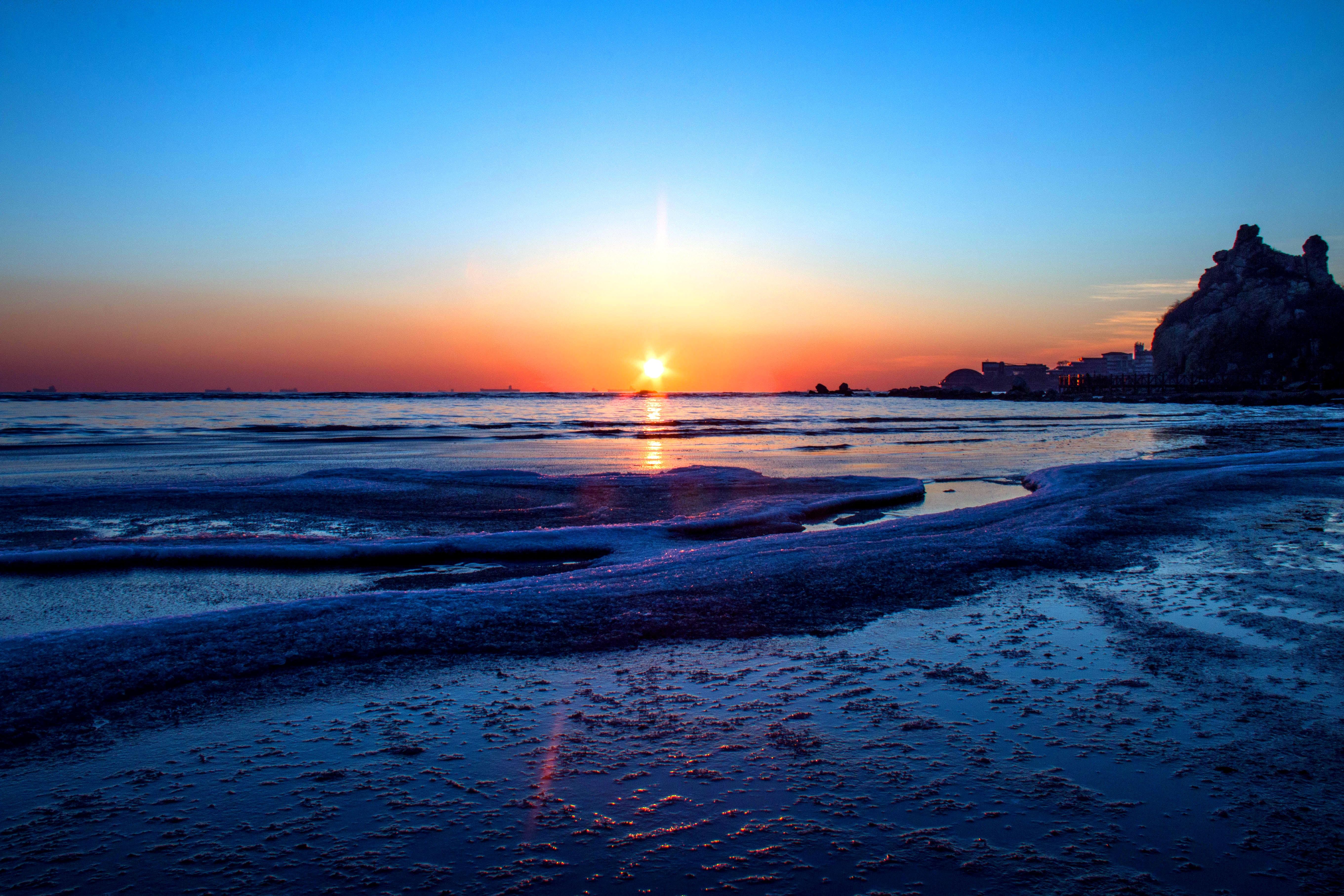 штопор фото море зимой рассвет наличии широкий выбор
