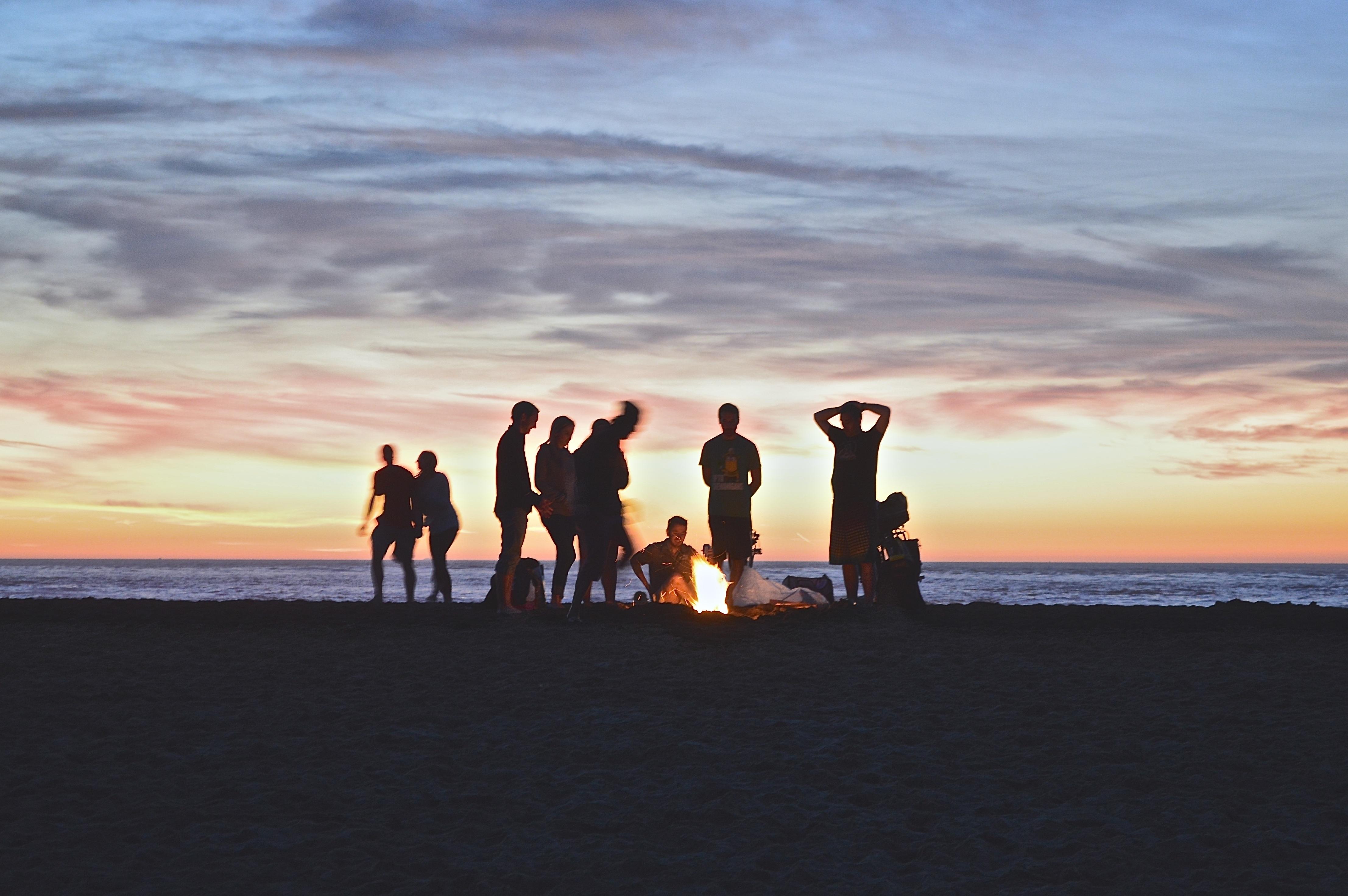картинки лето закат люди модель оборудована