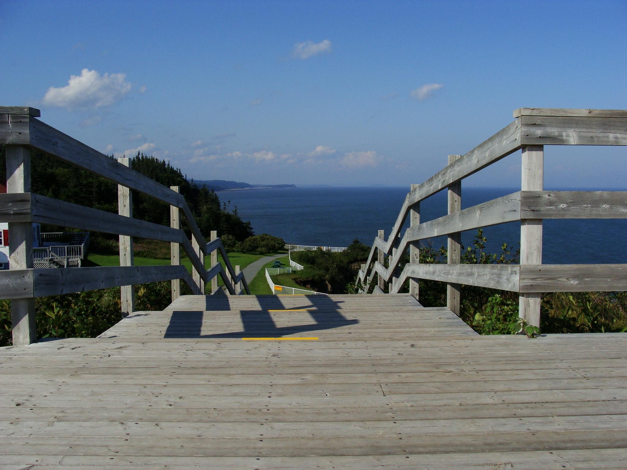 Beach Sea Coast Pathway Ocean Dock Boardwalk Pier Staircase Walkway  Vacation Marina Stairs Resort Estate East