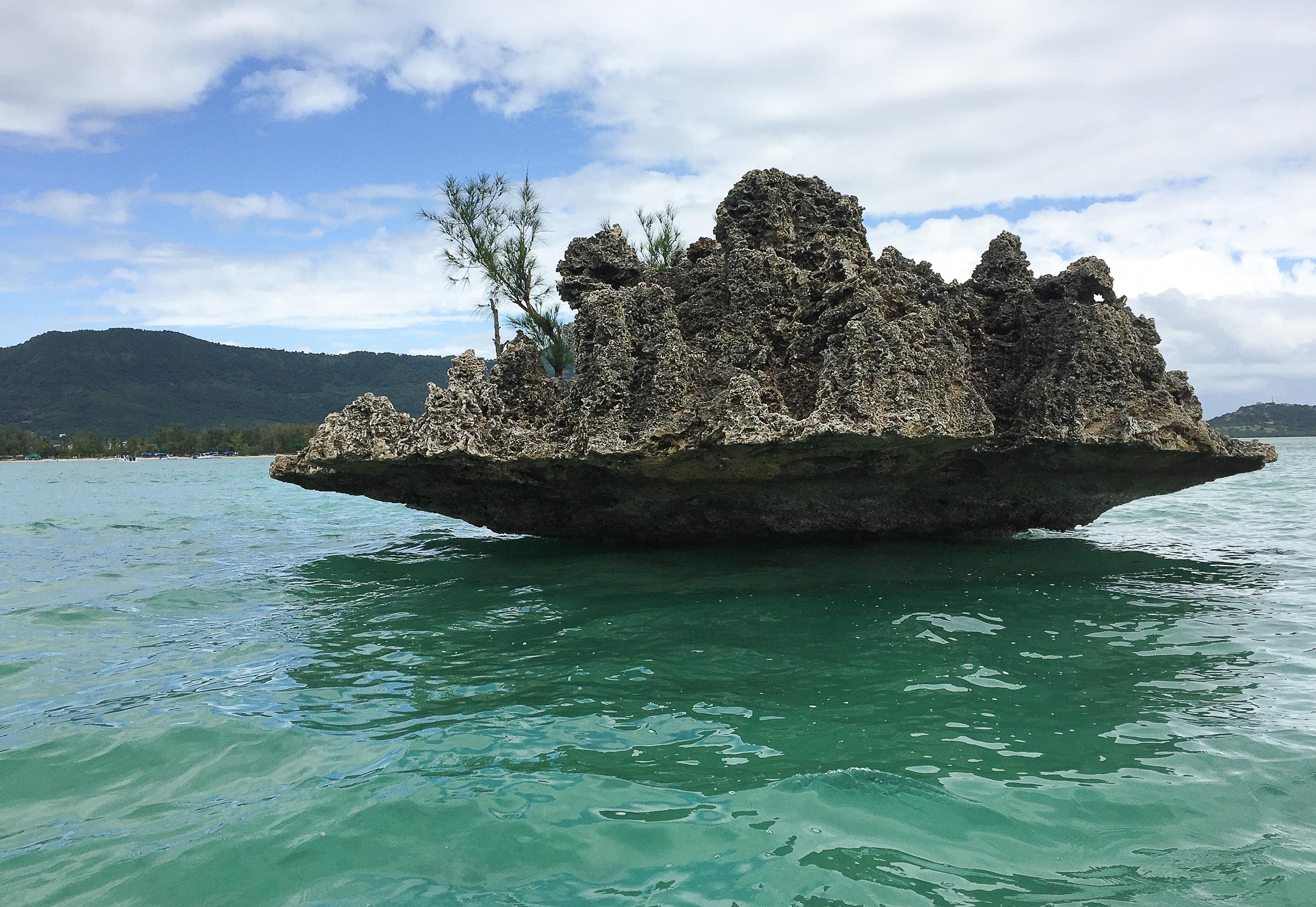 Island Rock Wallpaper