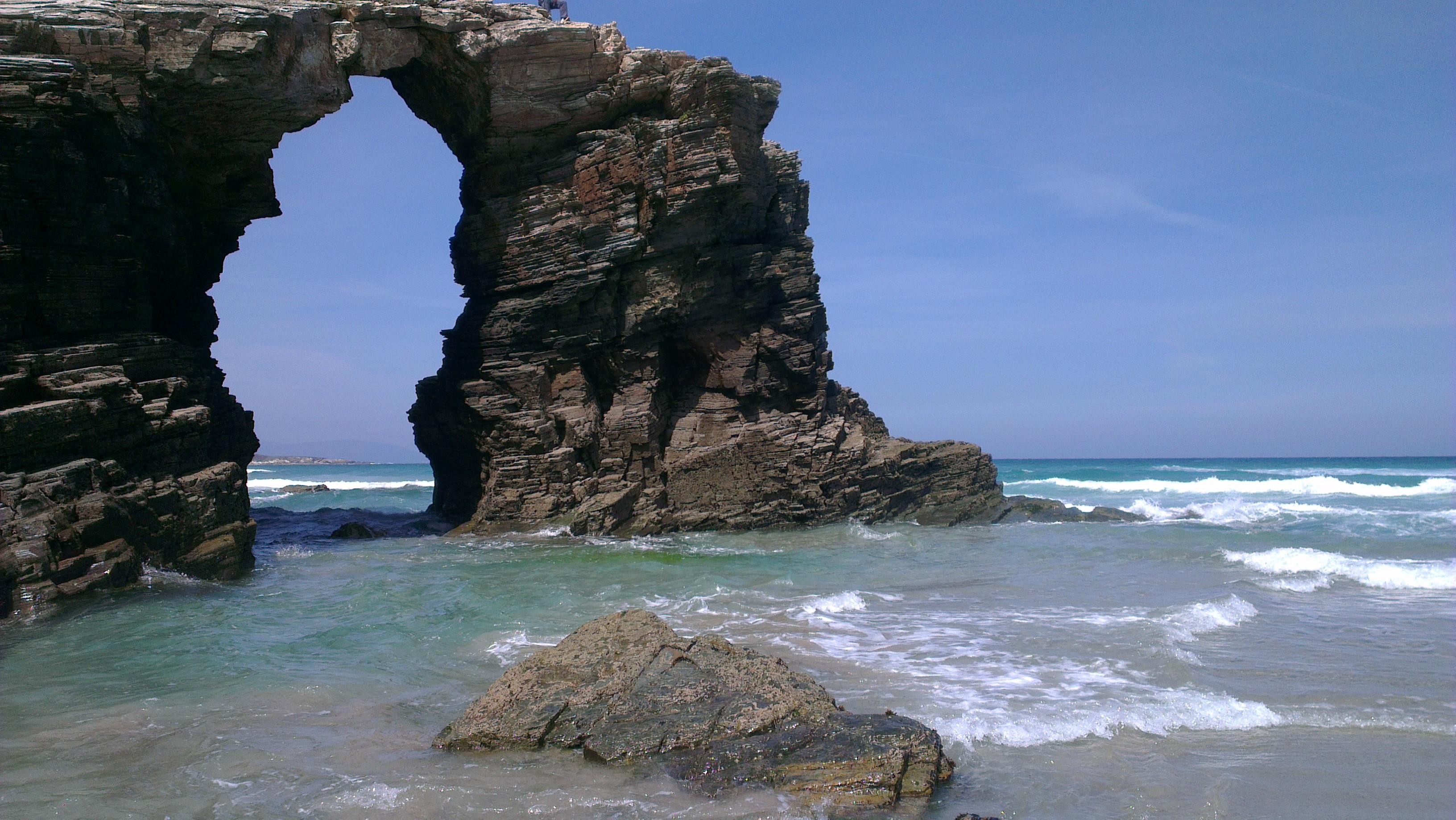 playa de las catedrales formacion