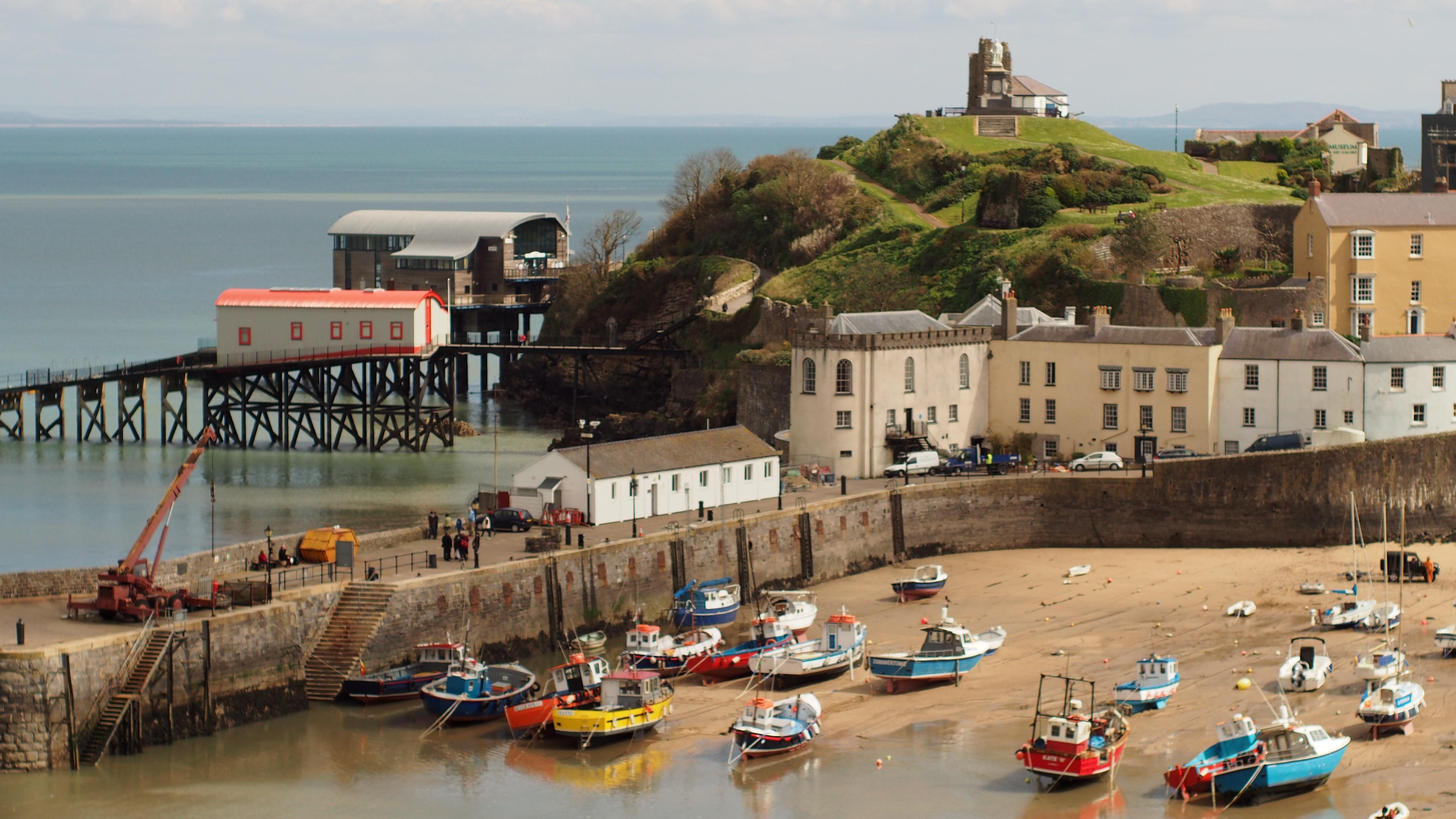Free Images : beach, sea, coast, sand, boat, town, coastal ...