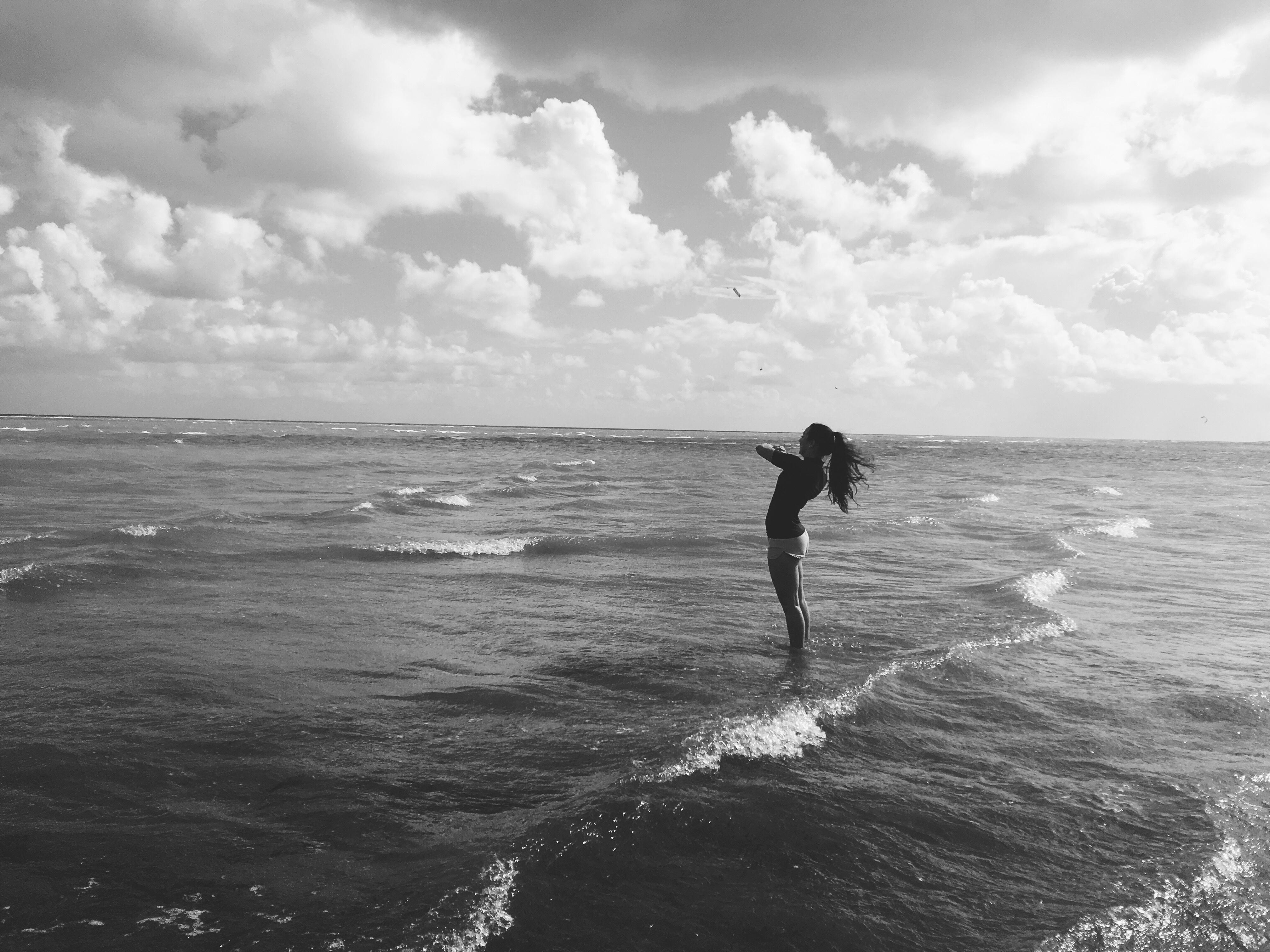 Картинки чб на море