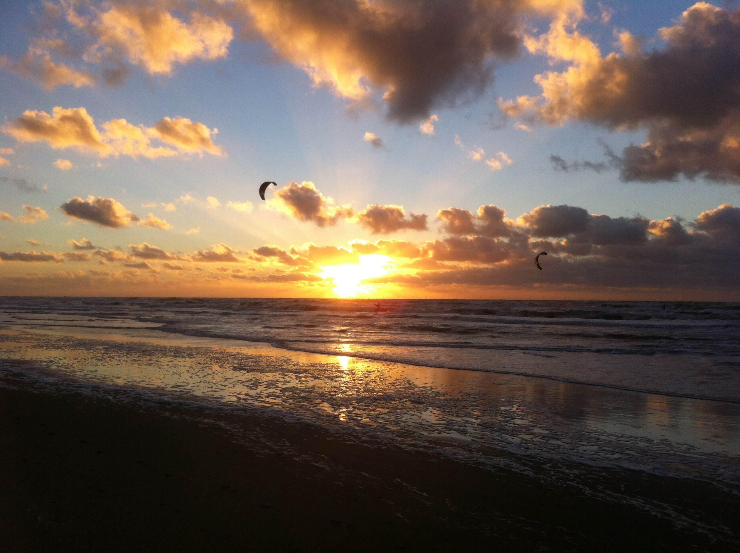 Фото восход на море 7