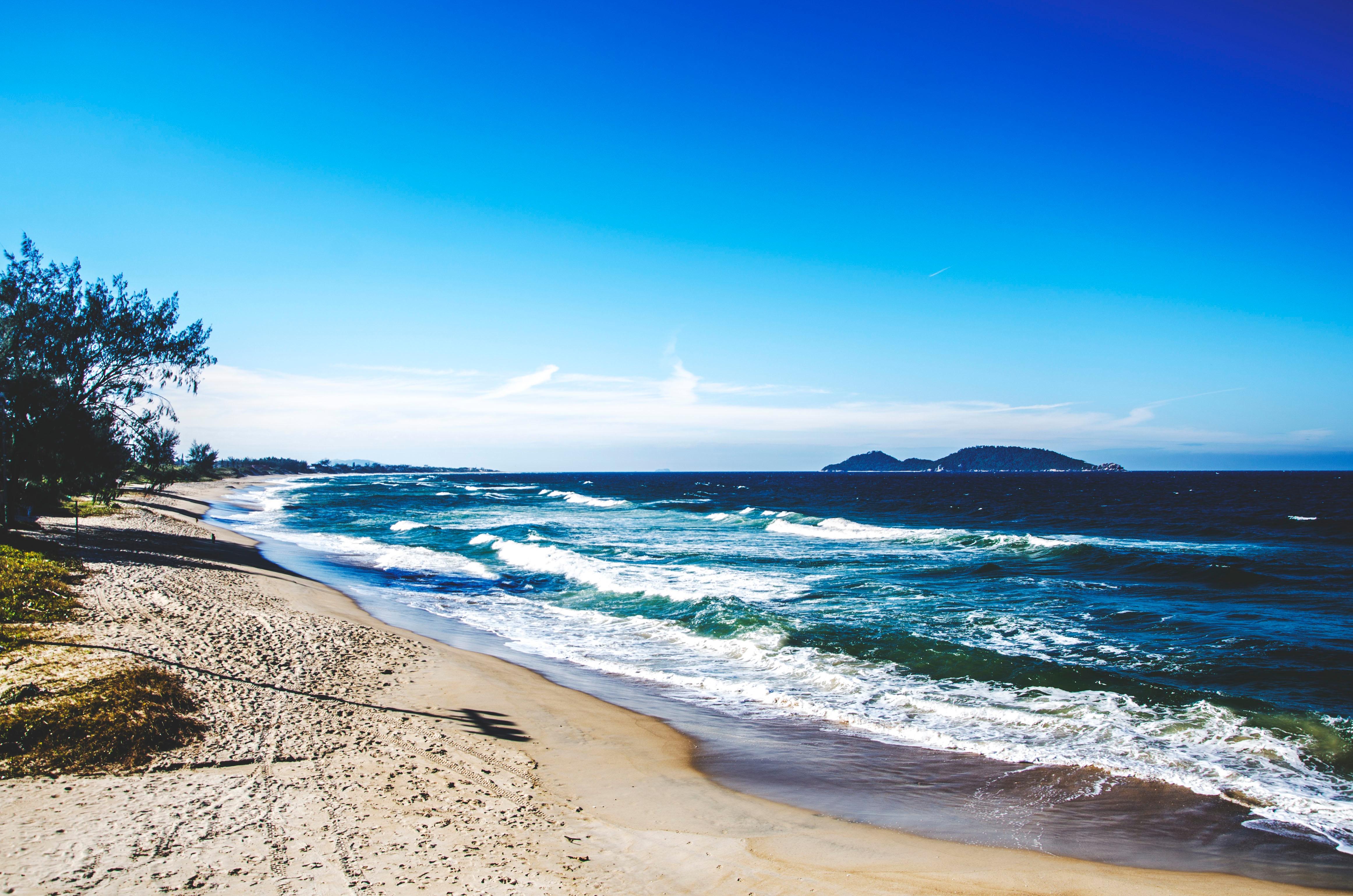 Берег море фото