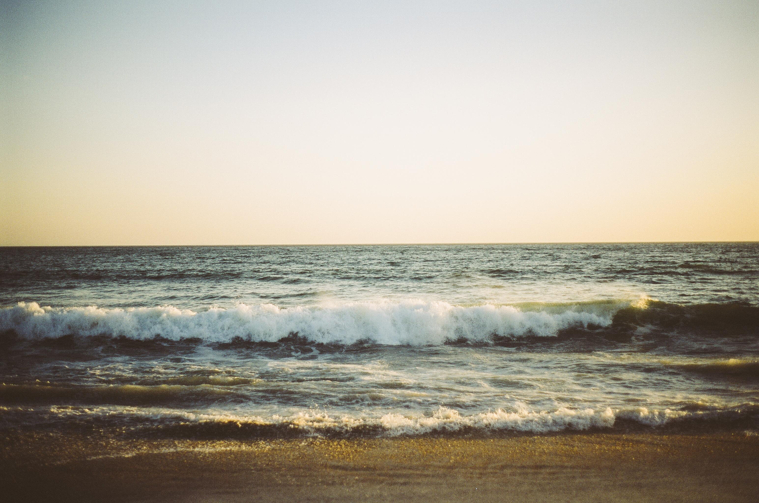 d6fd7596bf505 beach sea coast sand ocean horizon cloud sun sunrise sunset sunlight  morning shore wave dawn dusk