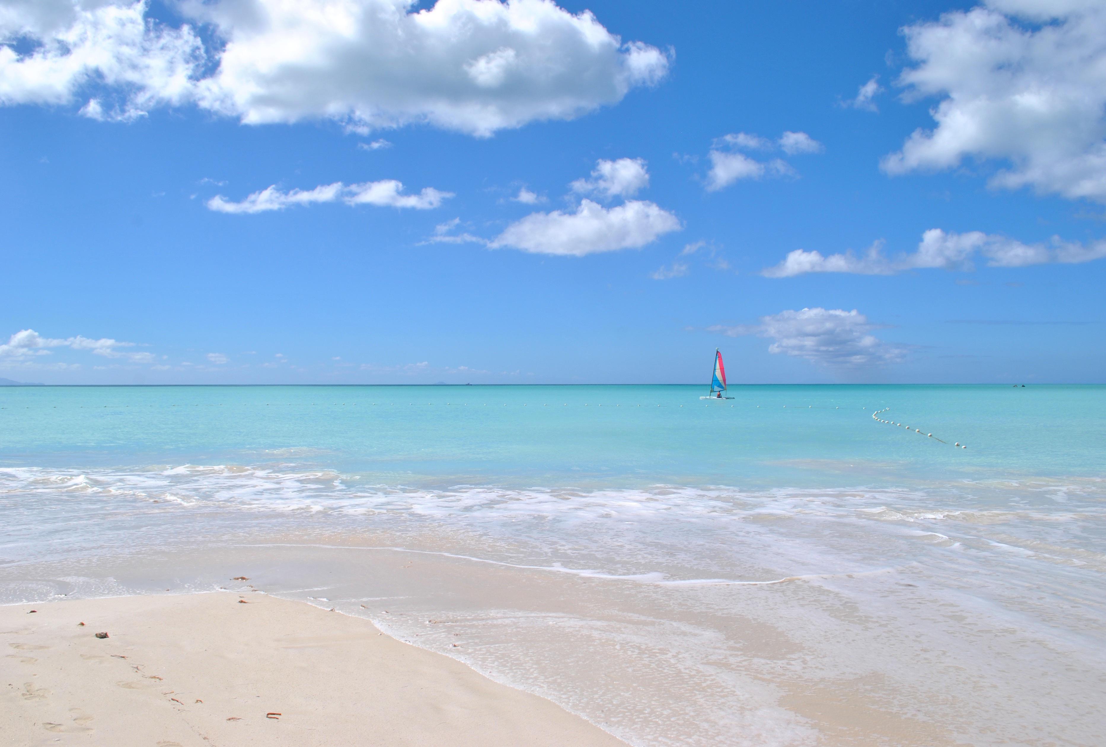 Caribbean beach pool pictures St. Croix Condo Rentals at Gentle Winds Beachfront Condos