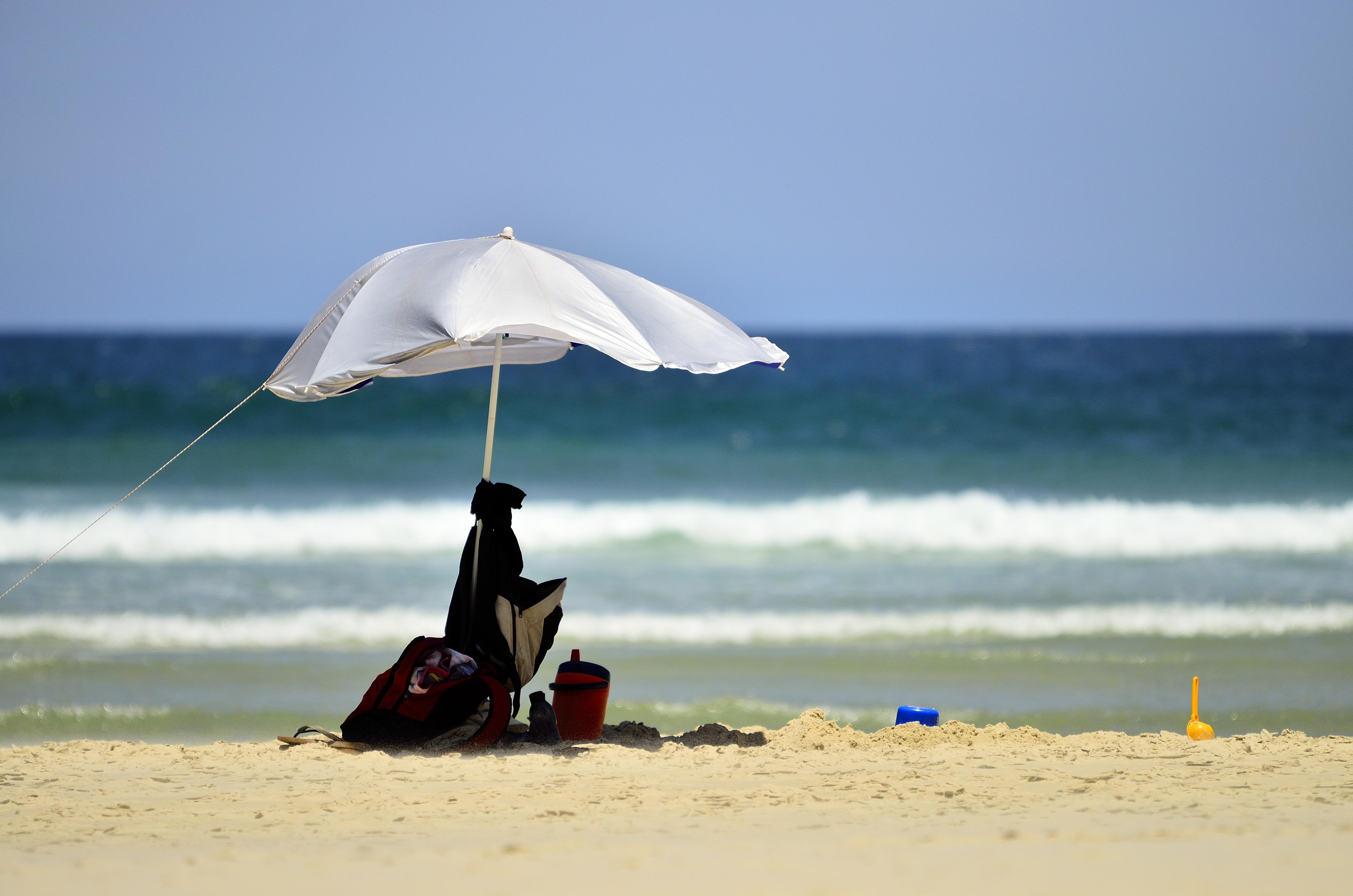 Нагота на пляже