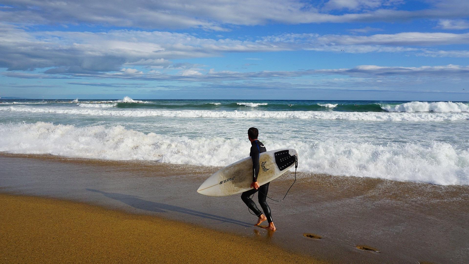 Обои доски для серфинга, солнечный, лето, Серферов. Спорт foto 11