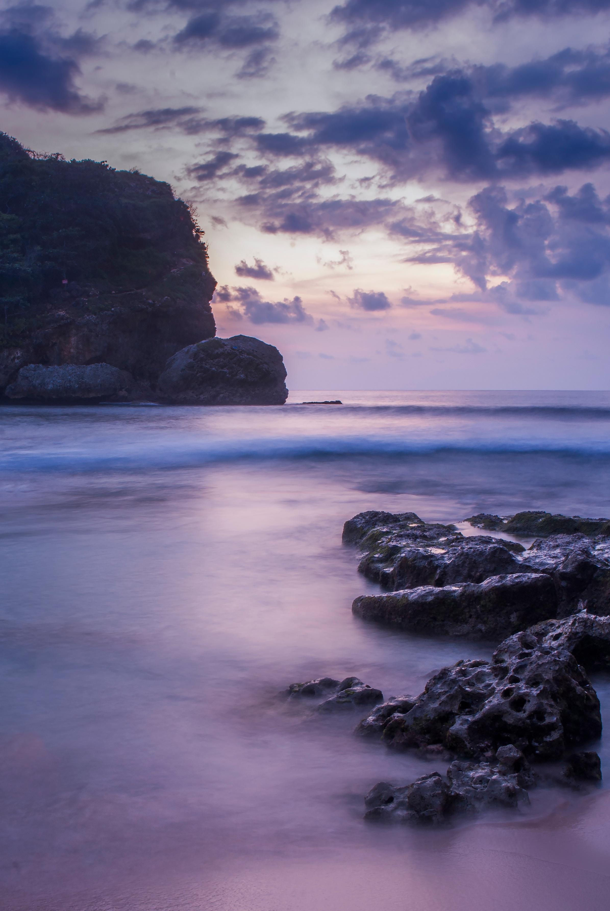 Фото море вертикальная