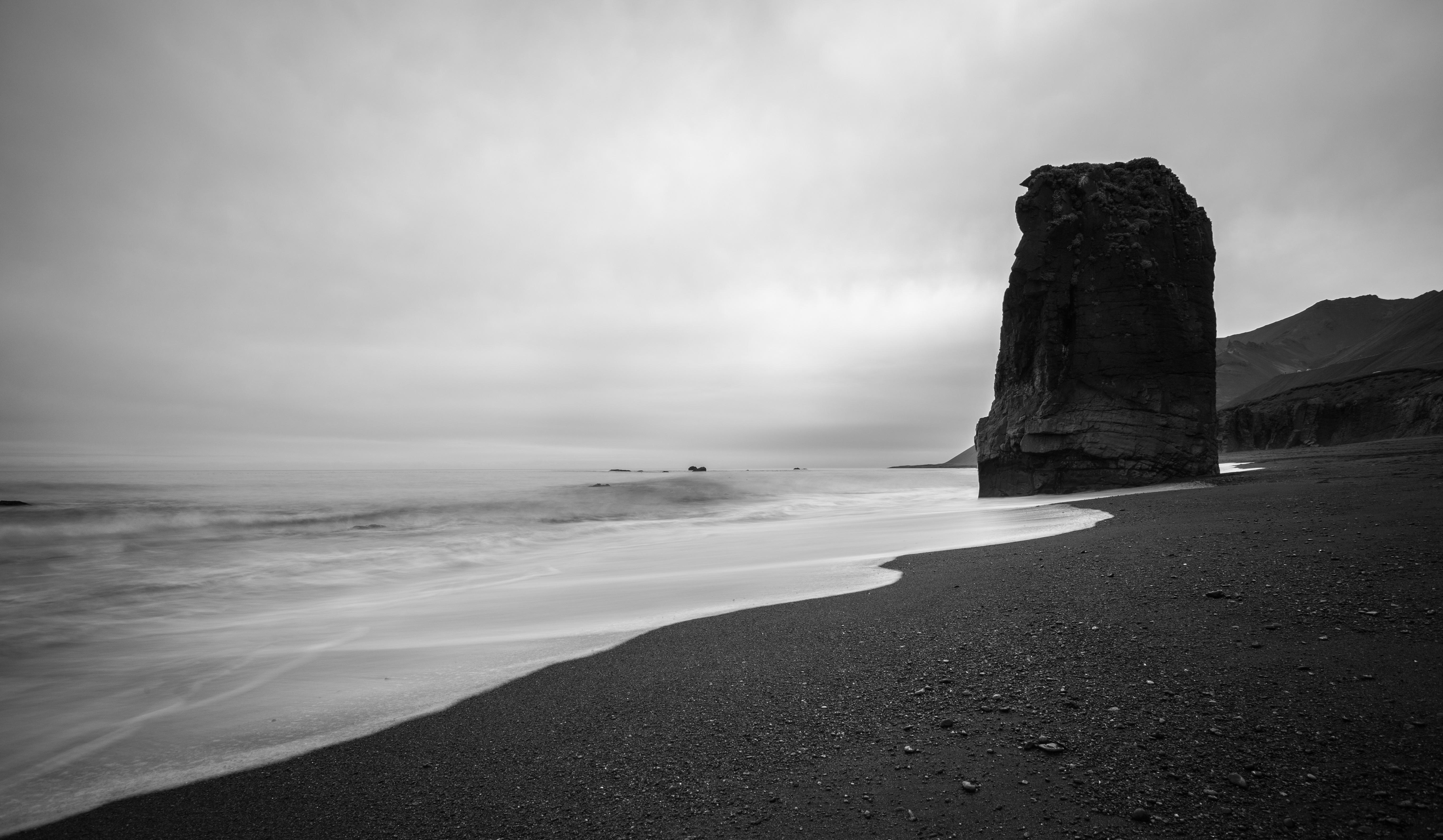 Free Images : beach, coast, sand, rock, ocean, horizon