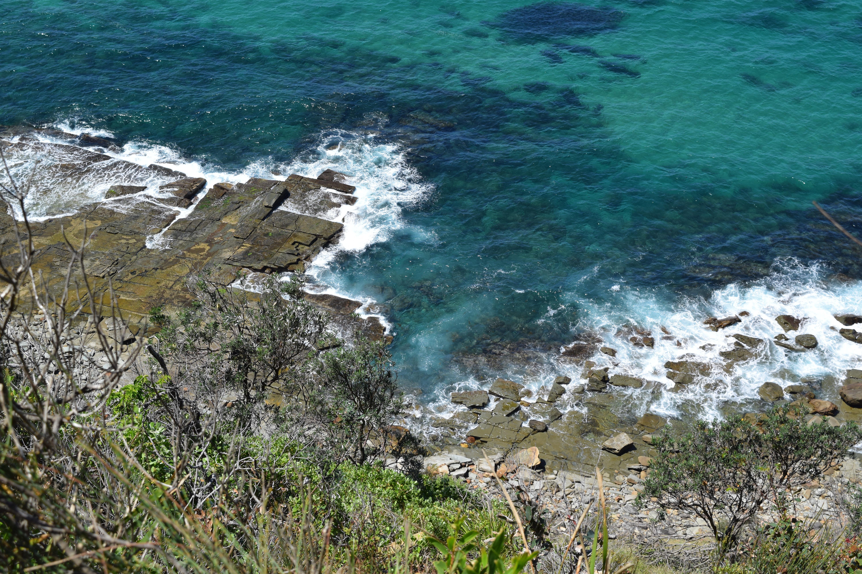 Fotoğraf Plaj Deniz Sahil Doğa Dış Mekan Kaya Kıyı Dalga