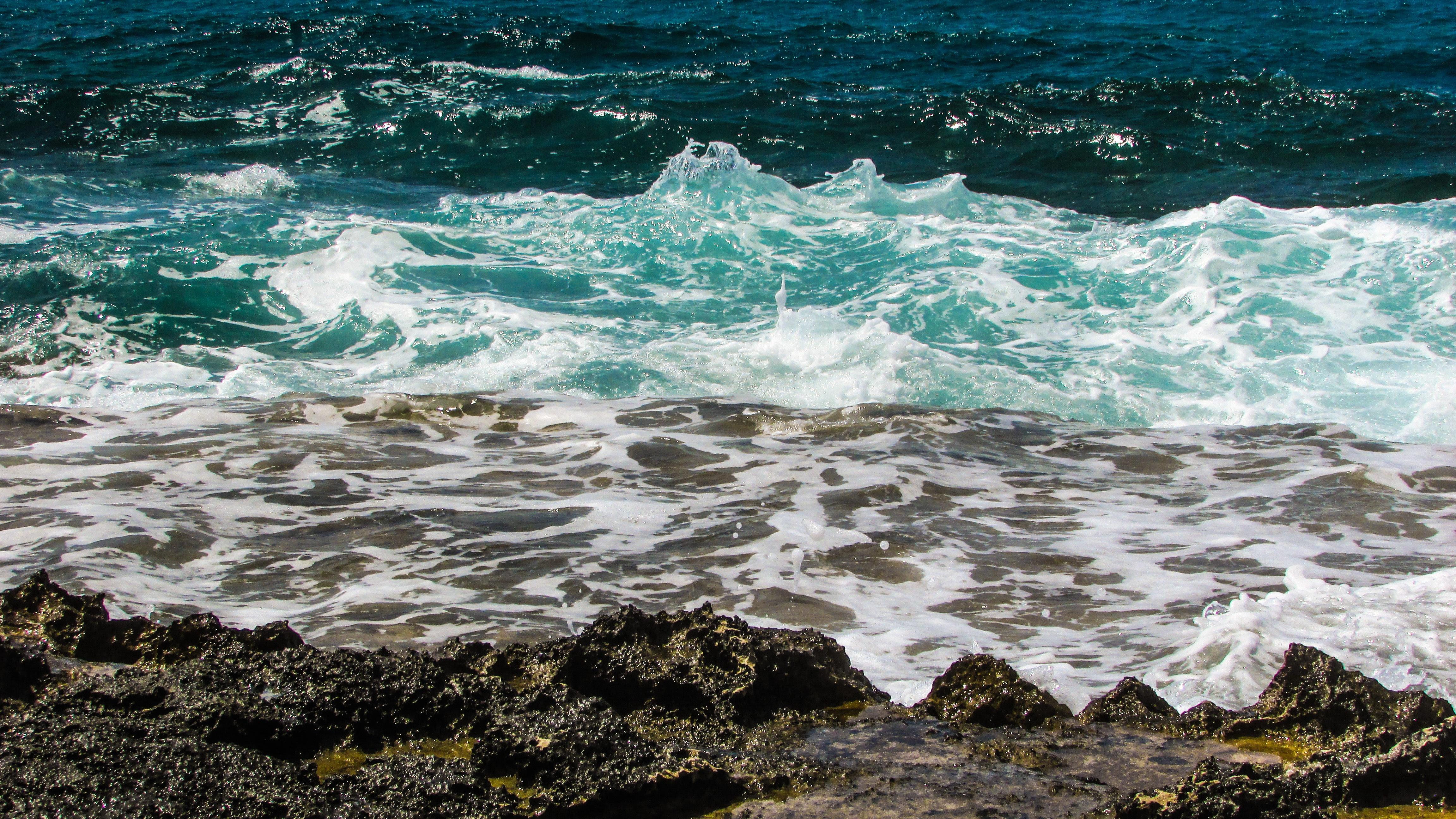 фото открытый океан море пляж стиле трэш