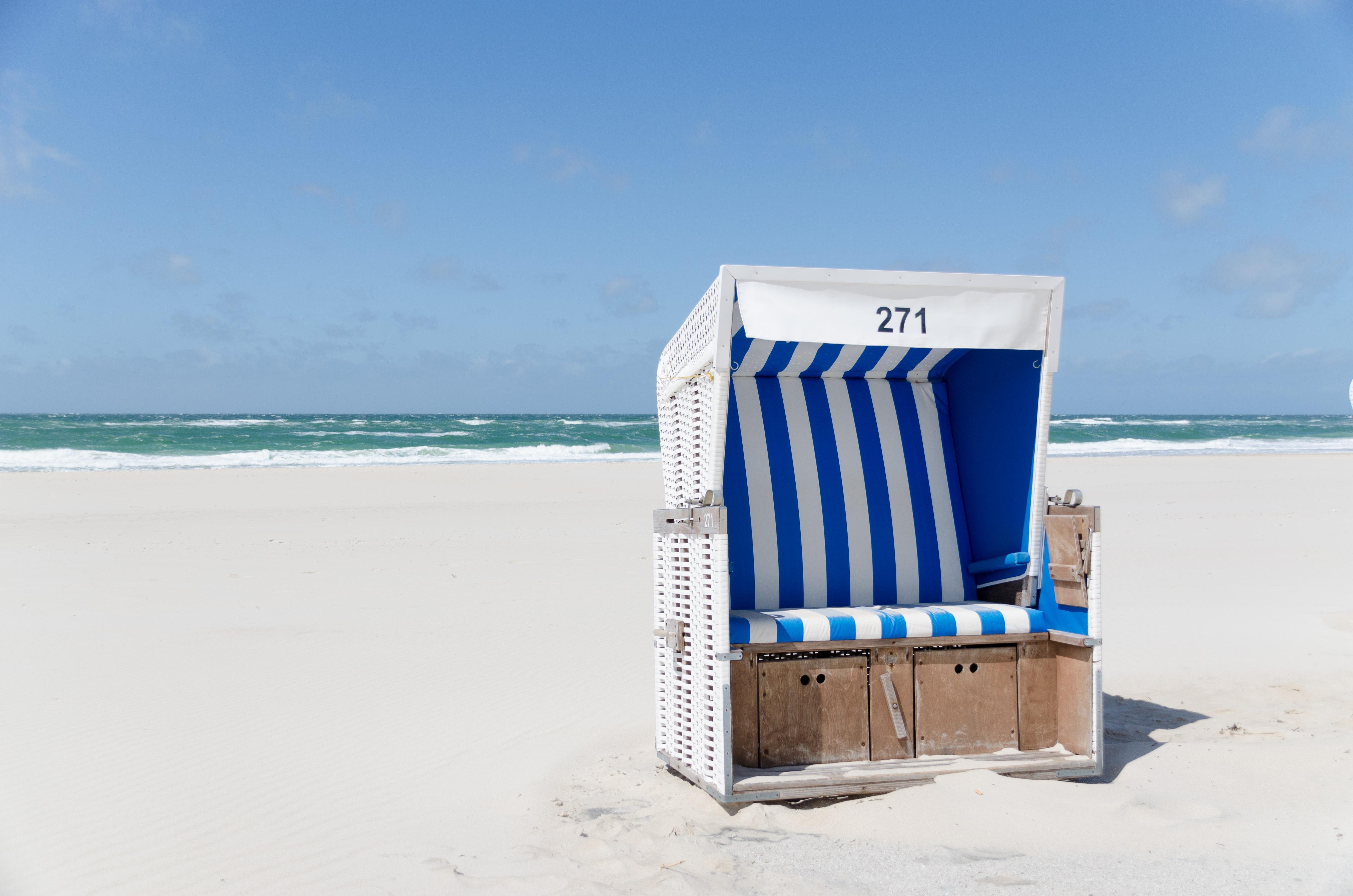 Fantastisk Bakgrundsbilder : hav, kust, vatten, natur, sand, himmel, sommar UK12