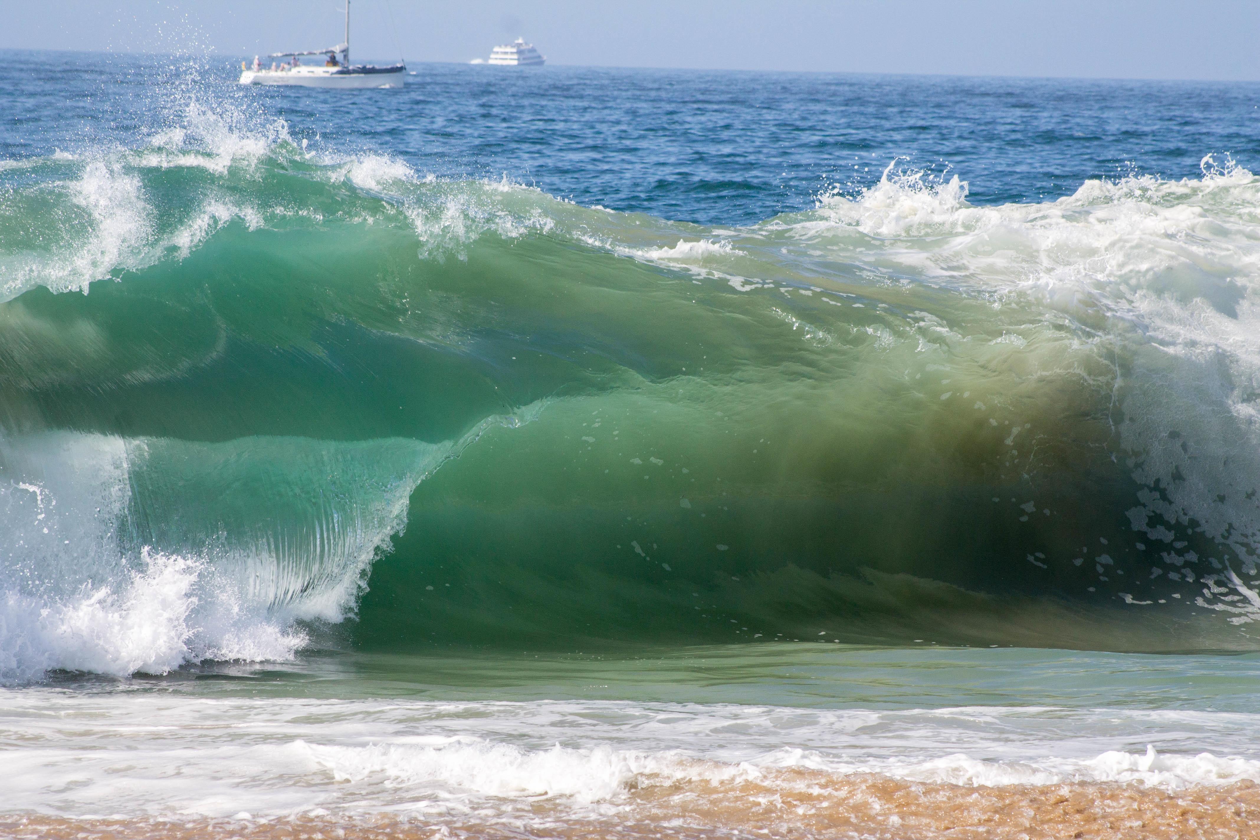 Волна на море фото картинок