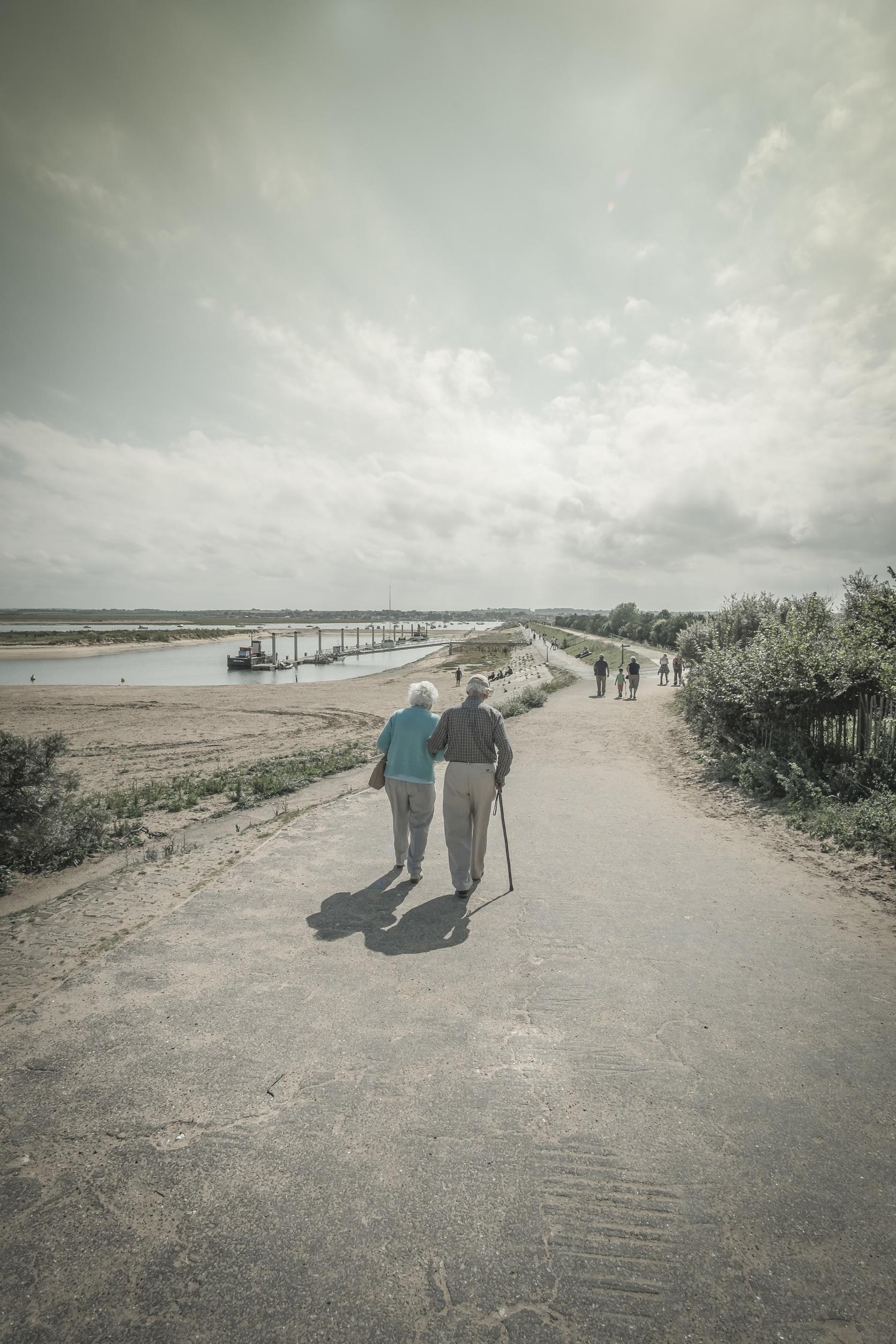 Beach Sea Coast Water Path Sand Ocean Horizon Walking Cloud People Sunshine Sunlight Morning S Wave