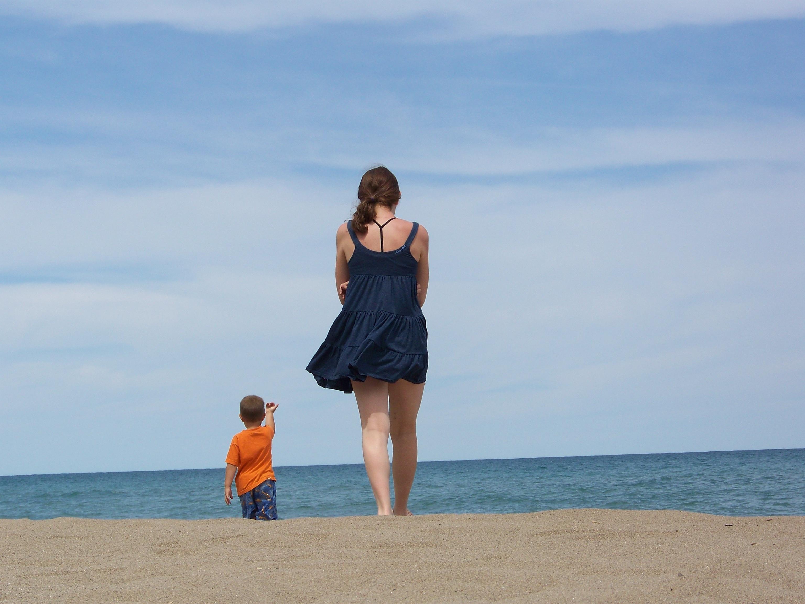 Пляж мальчики девочки фото