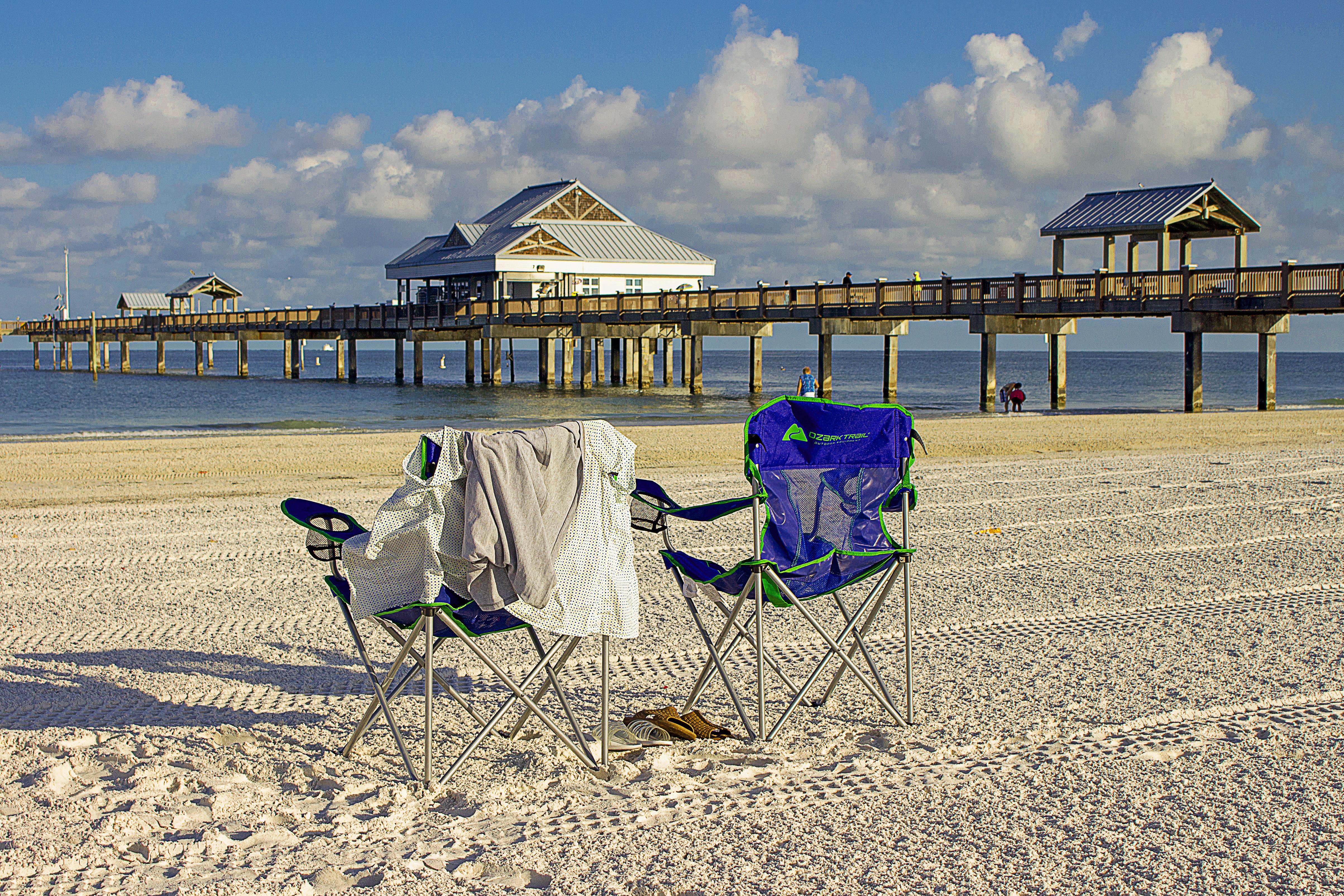 Beach Sea Coast Water Sand Ocean Horizon Sky Boardwalk S Pier Vacation Tourism Leisure Body Of