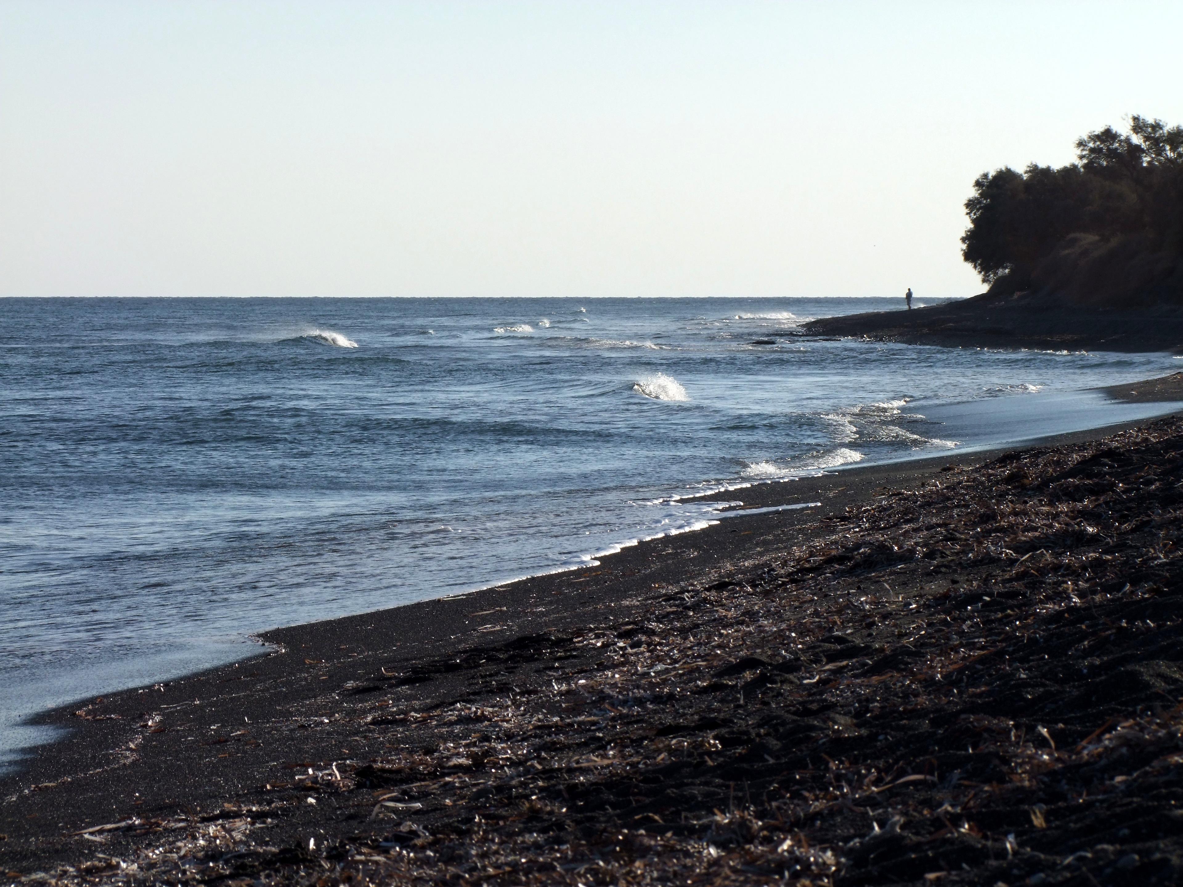 Beach Sea Coast Rock Ocean Horizon