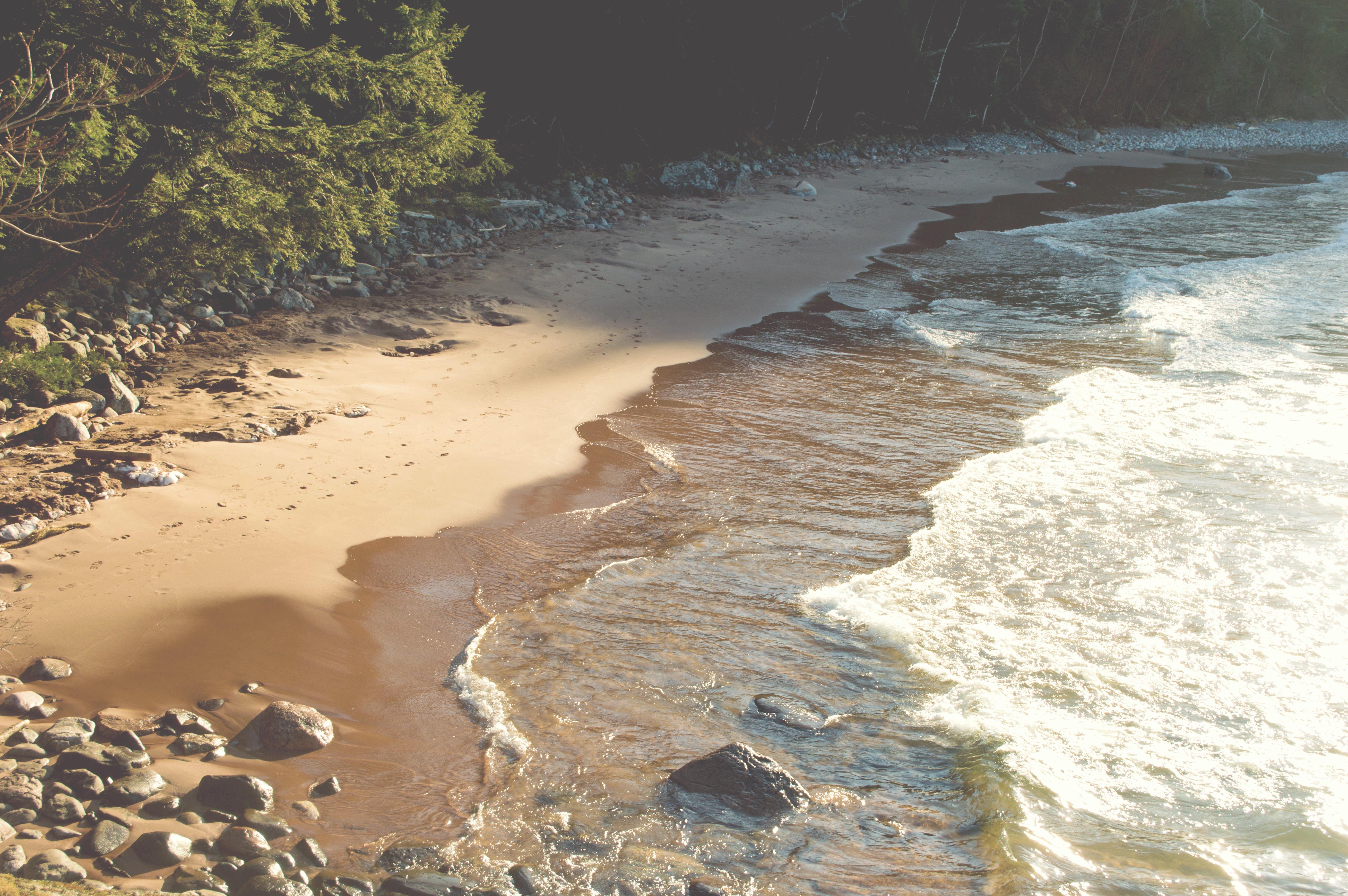 Вода на пляже фото