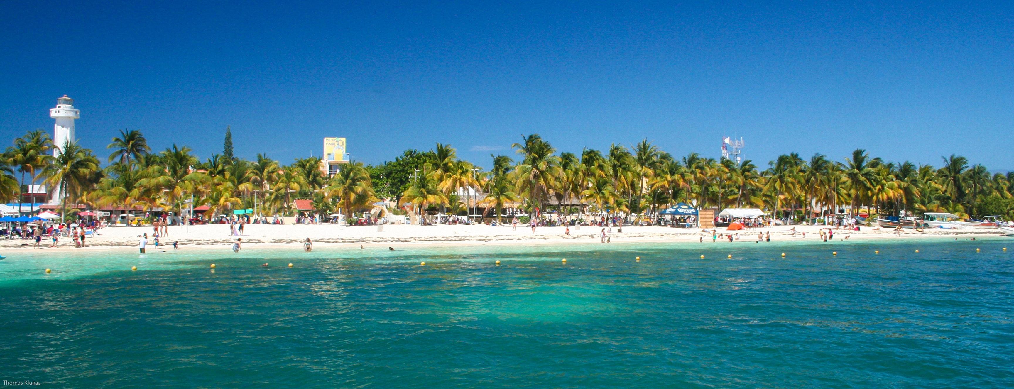 Beach Sea Coast Water Summer Vacation Holiday Lagoon Bay Island Marina Leisure Resort Mexico Caribbean Cancun