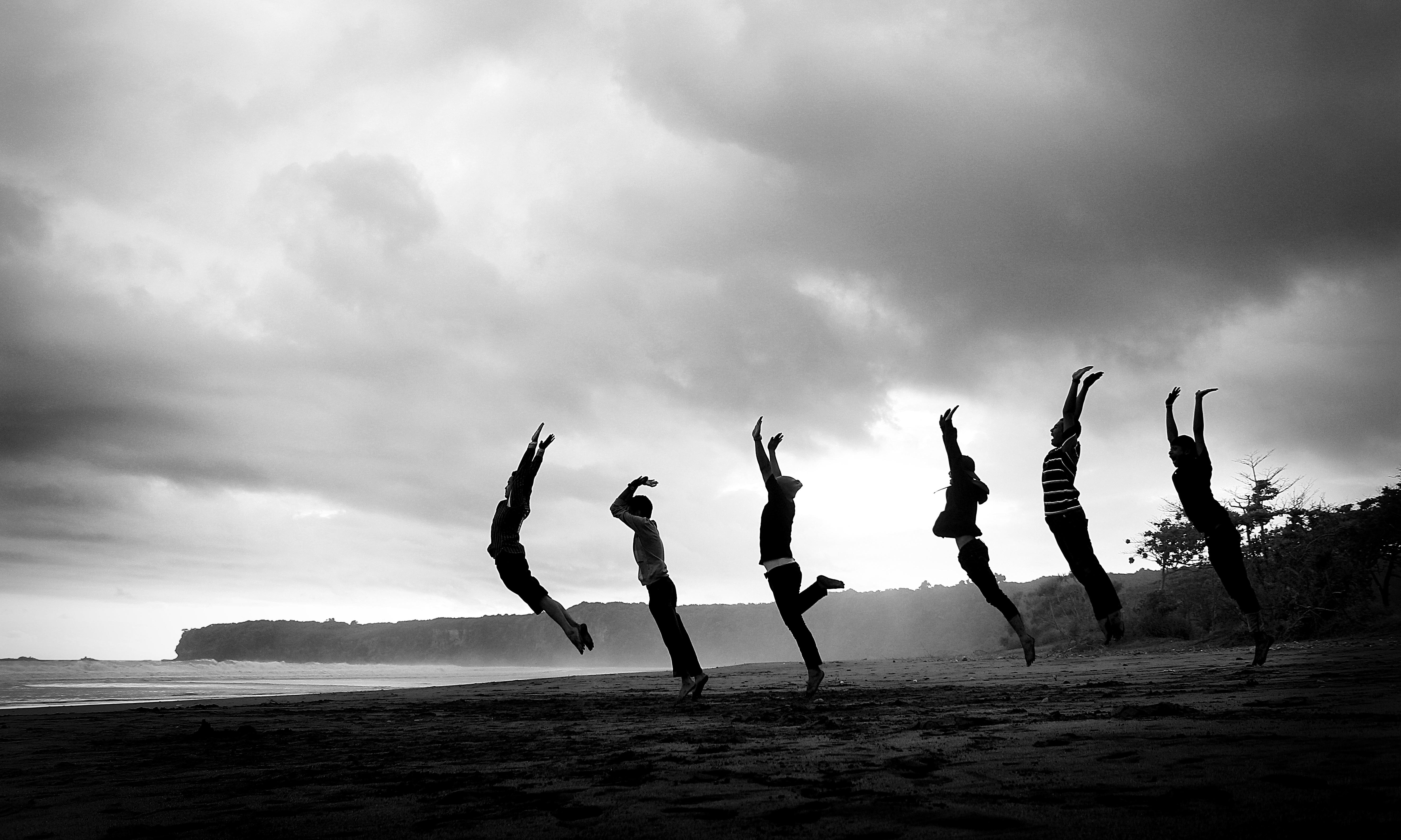 Kostenlose foto : Strand, Meer, Ozean, Horizont, Silhouette, Wolke ...