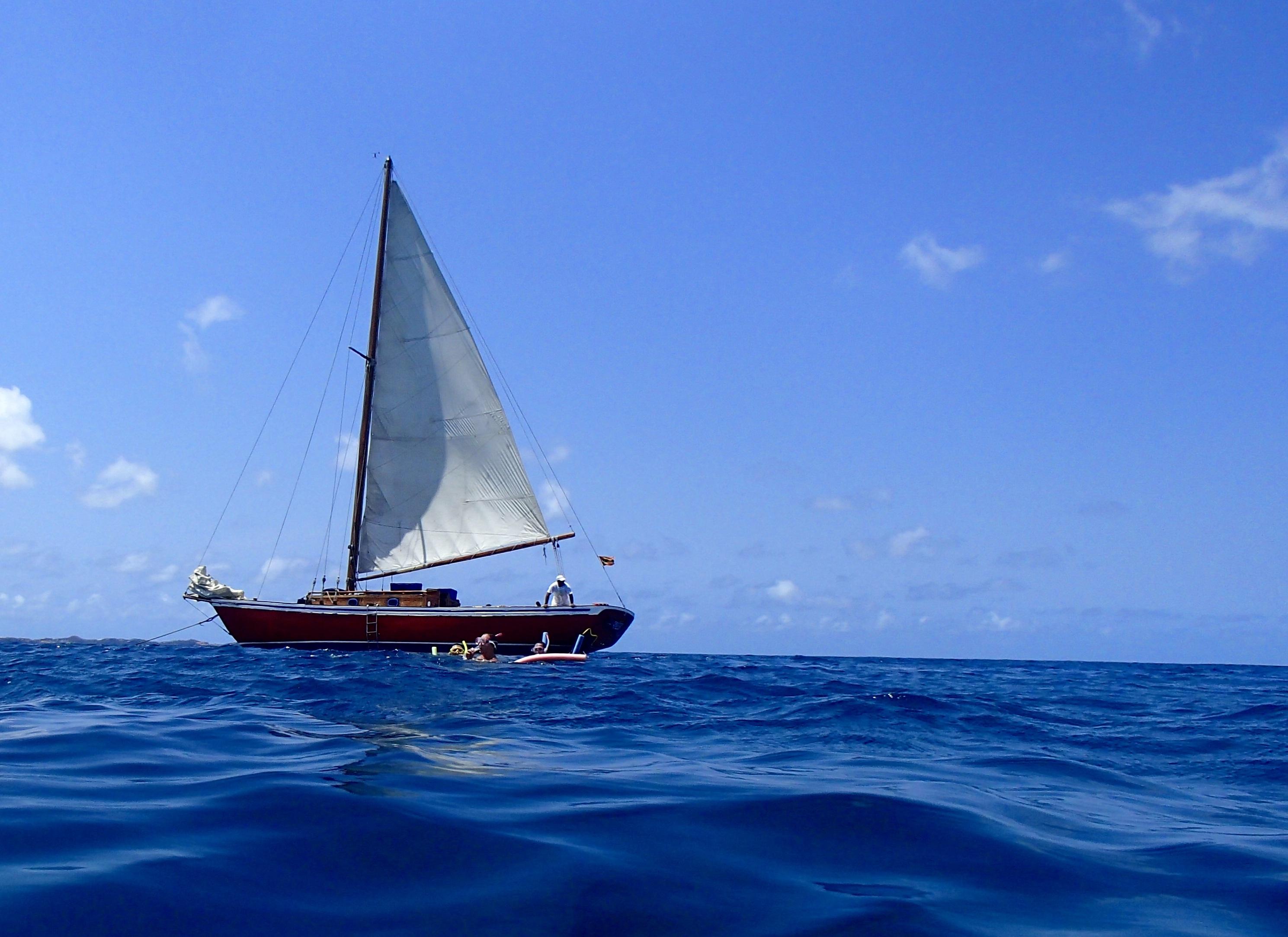 Images gratuites plage mer oc an soleil vague t - Photo de voilier gratuite ...