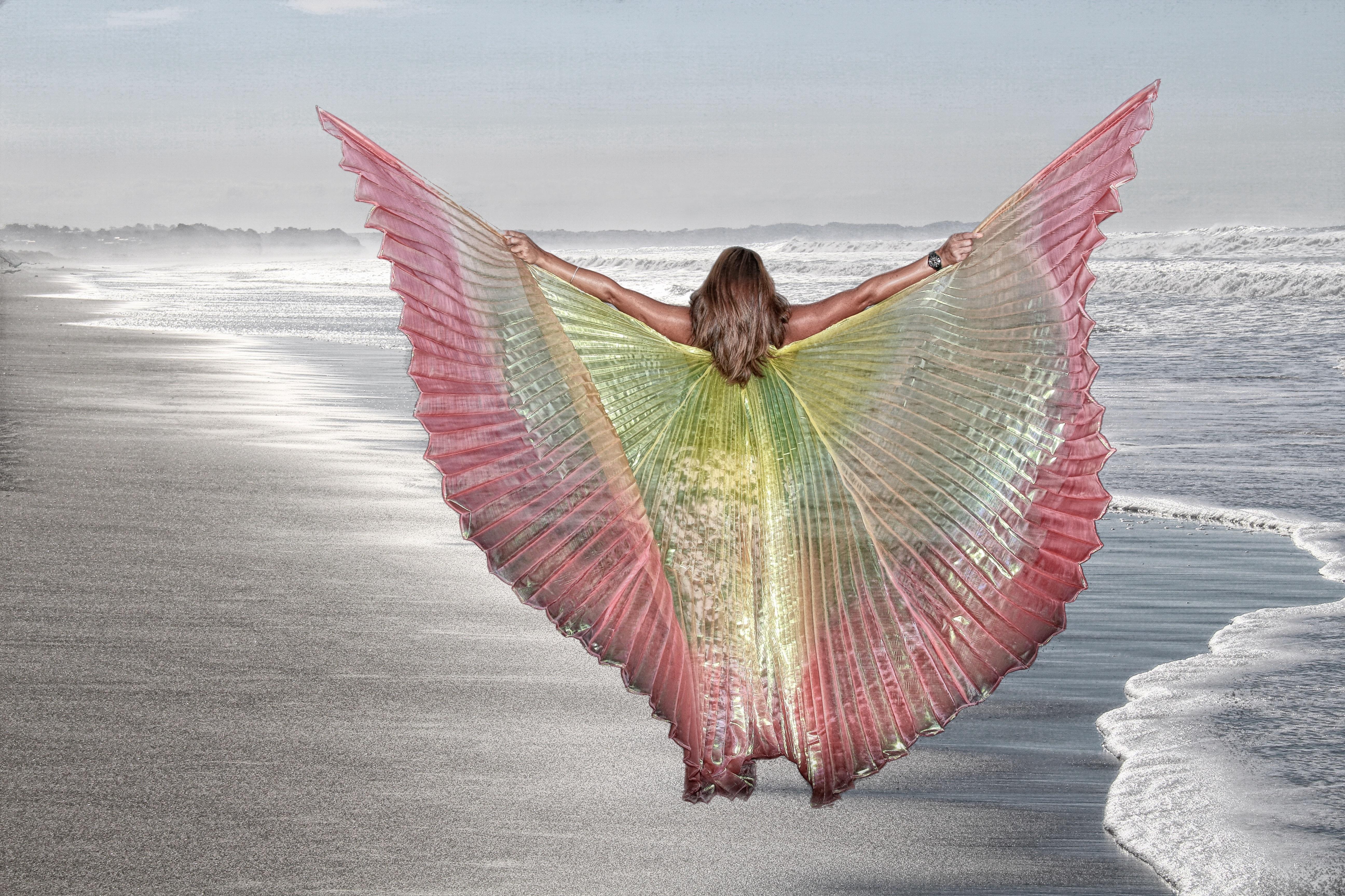 зарядку, картинка крылья успеха солнцезащитных или
