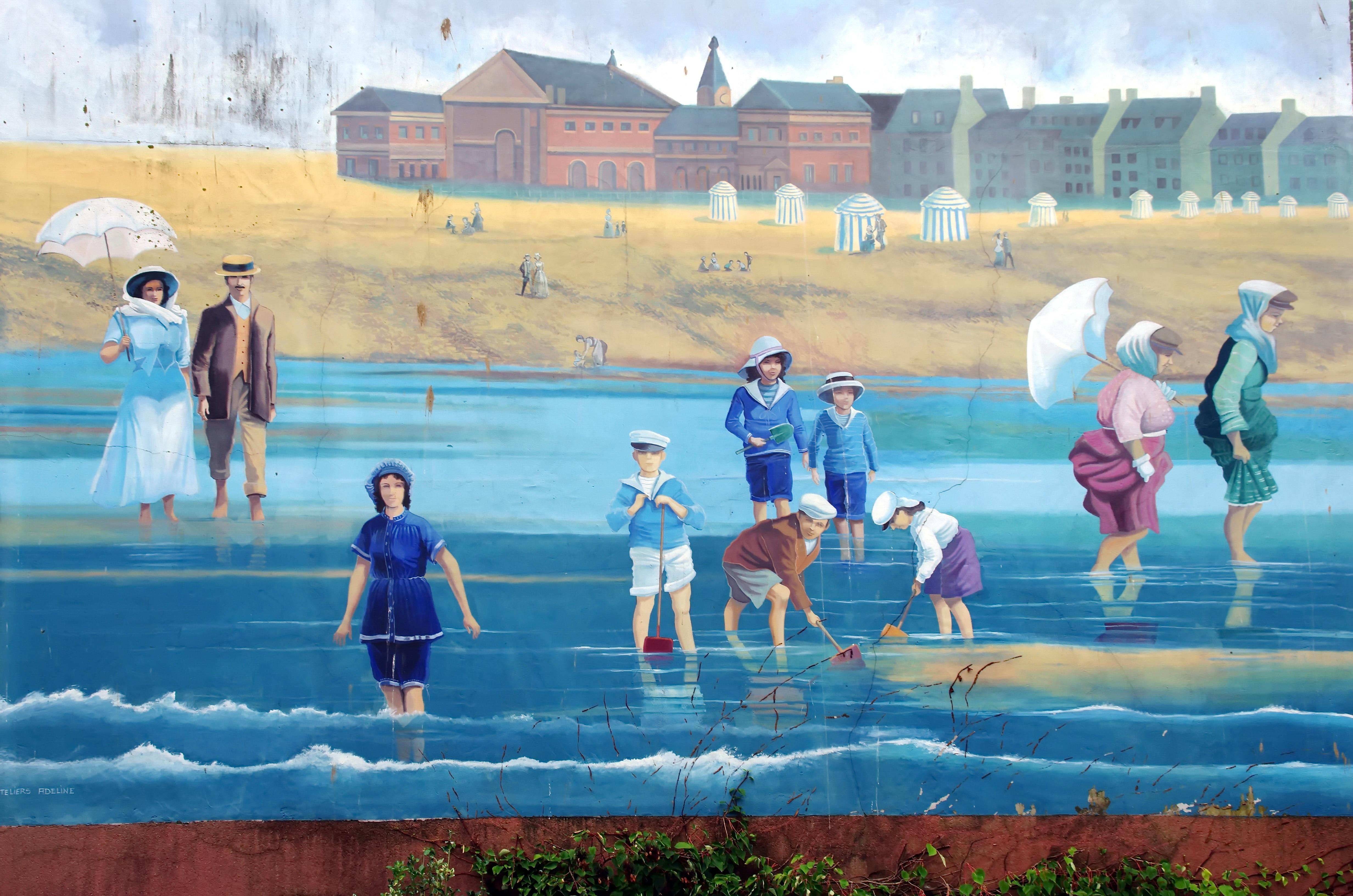 Gratis afbeeldingen strand zwembad vrije tijd muurschildering