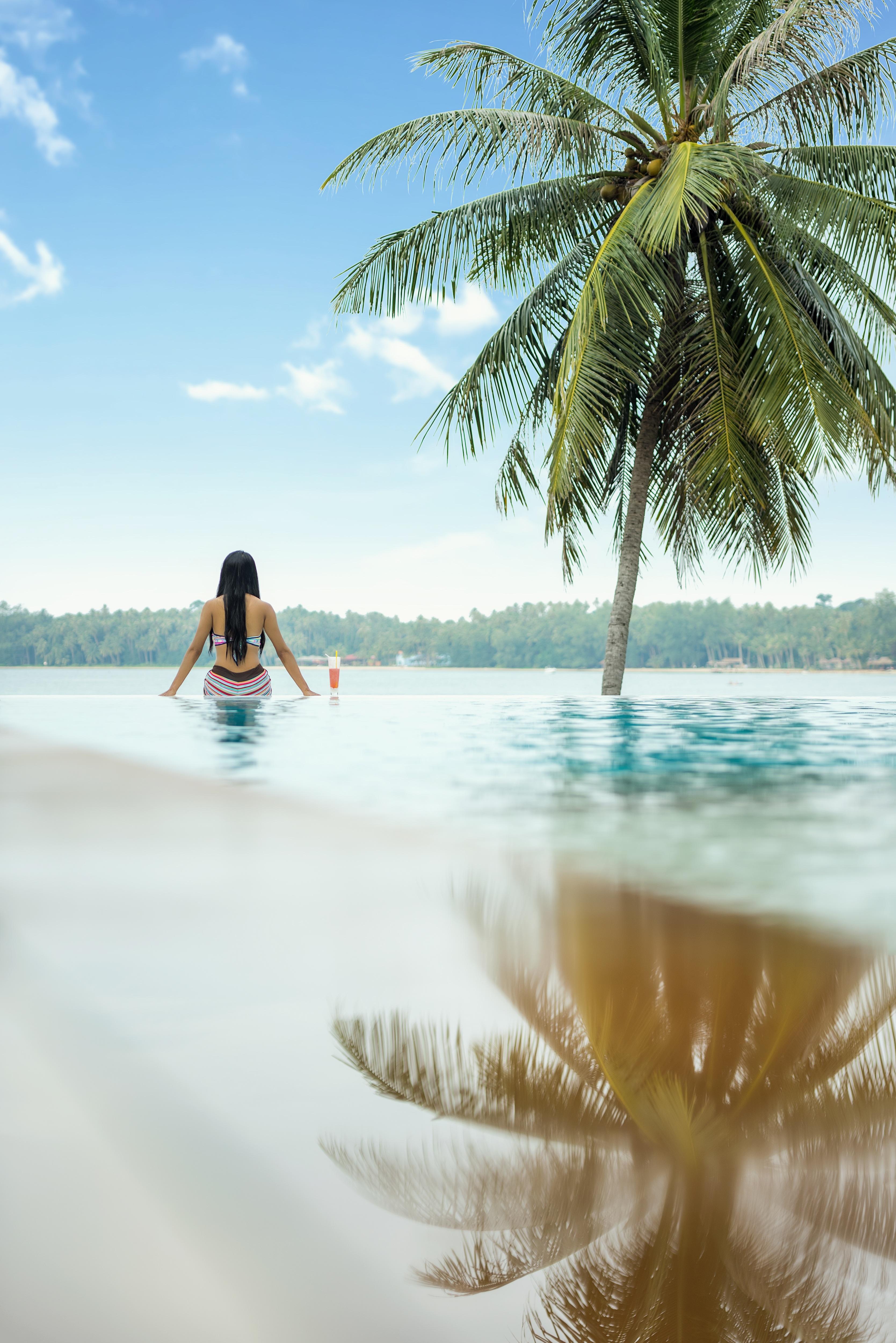 Fotos gratis : playa, mar, árbol, arena, Oceano, gente ...