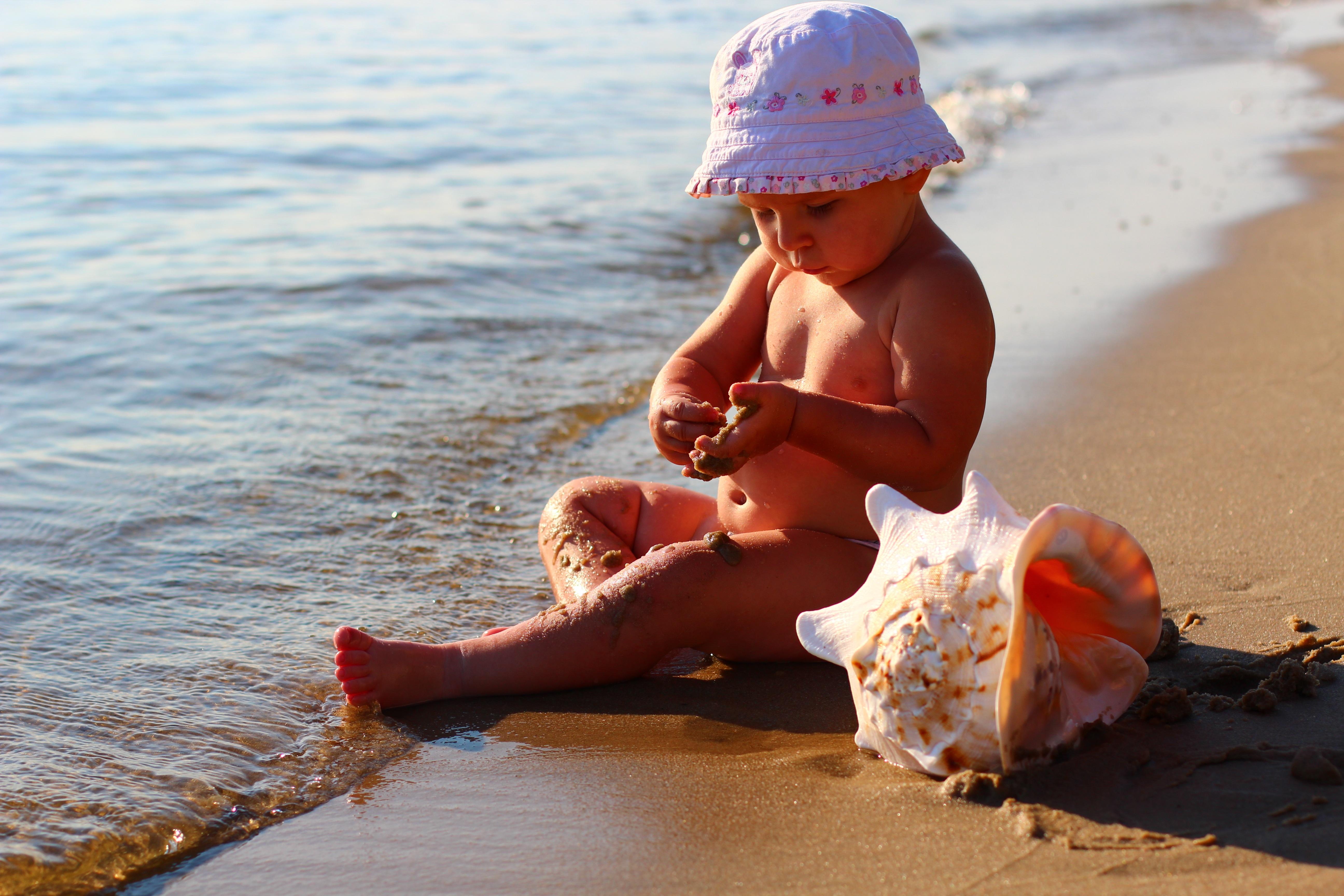 картинки берег моря малыши лифтинг