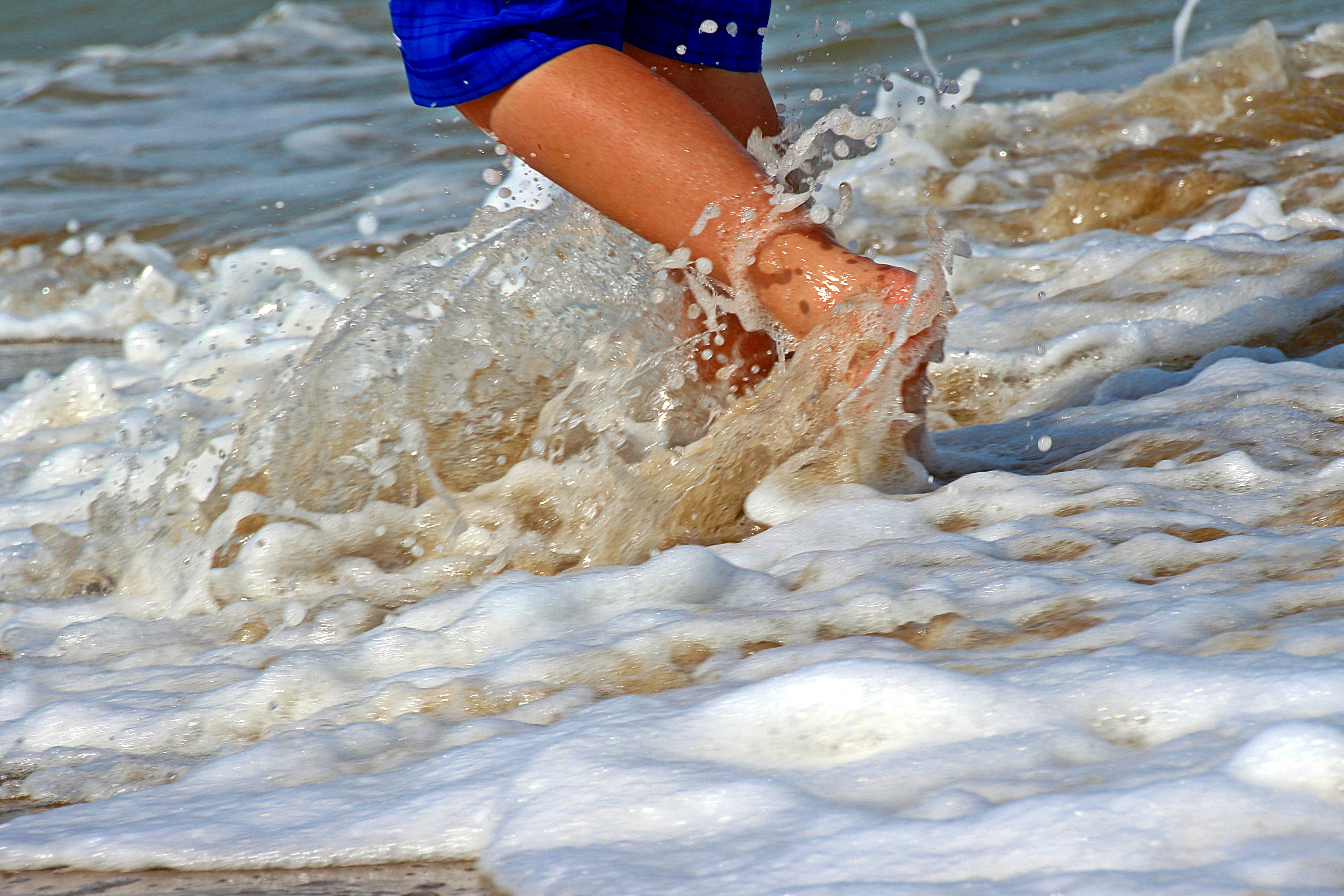 Фотографии купальщиков на пляже — photo 12