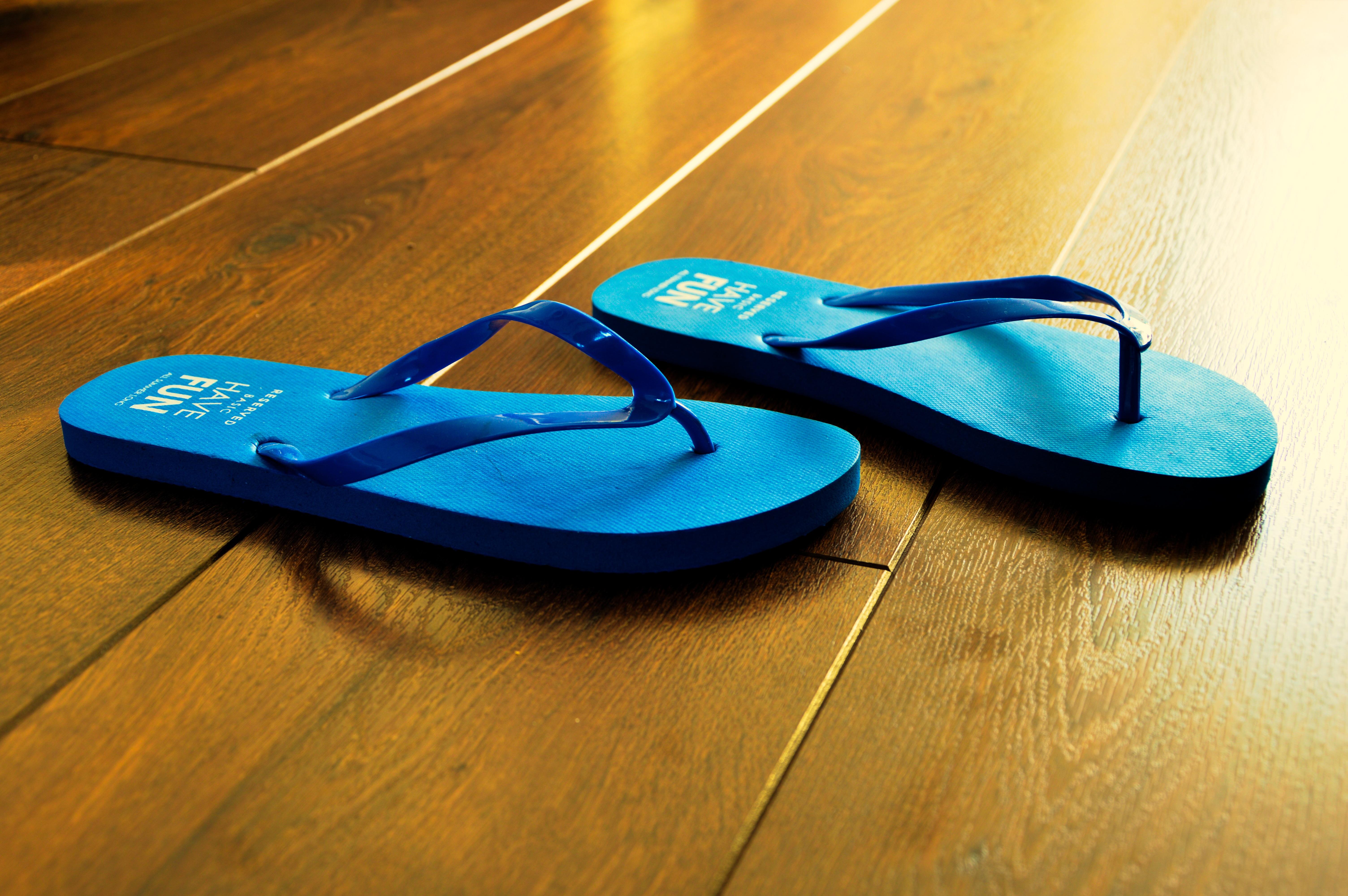 Gambar Pantai Musim Panas Liburan Rekreasi Flip Flop