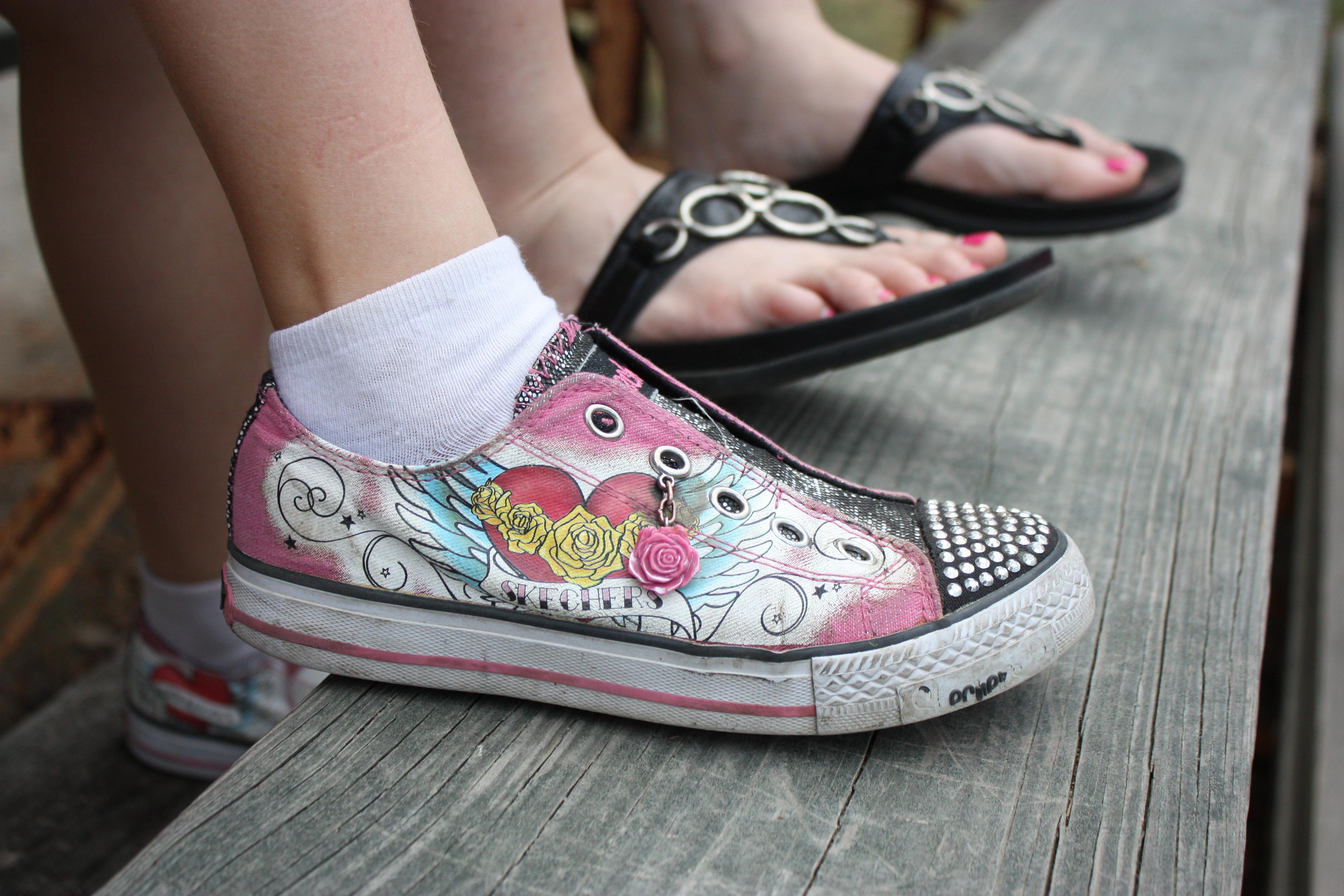 Free Images Beach Shoe White Feet Summer Leg Pattern Spring Sepatu Sneakers Wanita Love Fashion Pink Human Body Shoes Girls Design Sandals