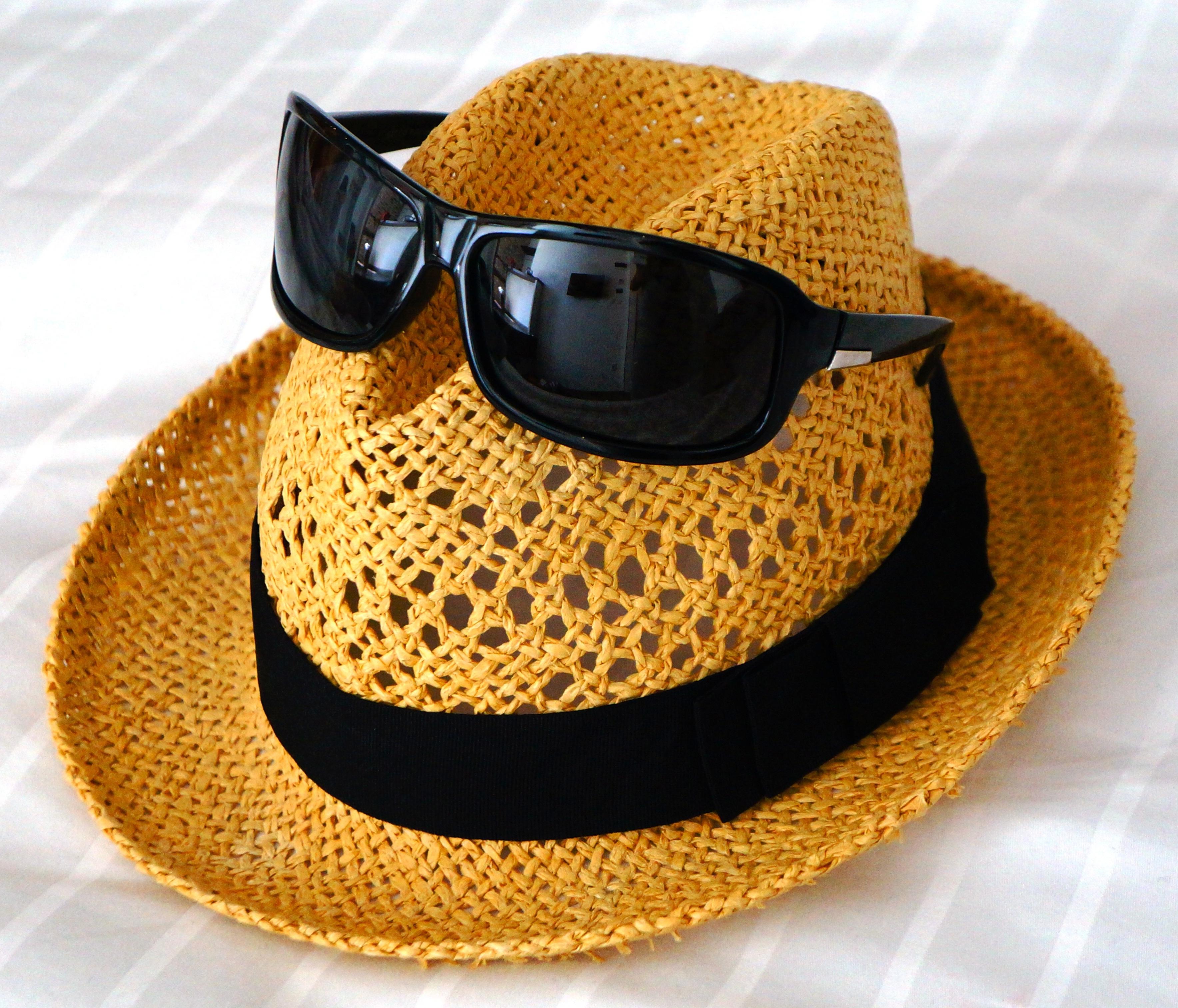 beach brim hat
