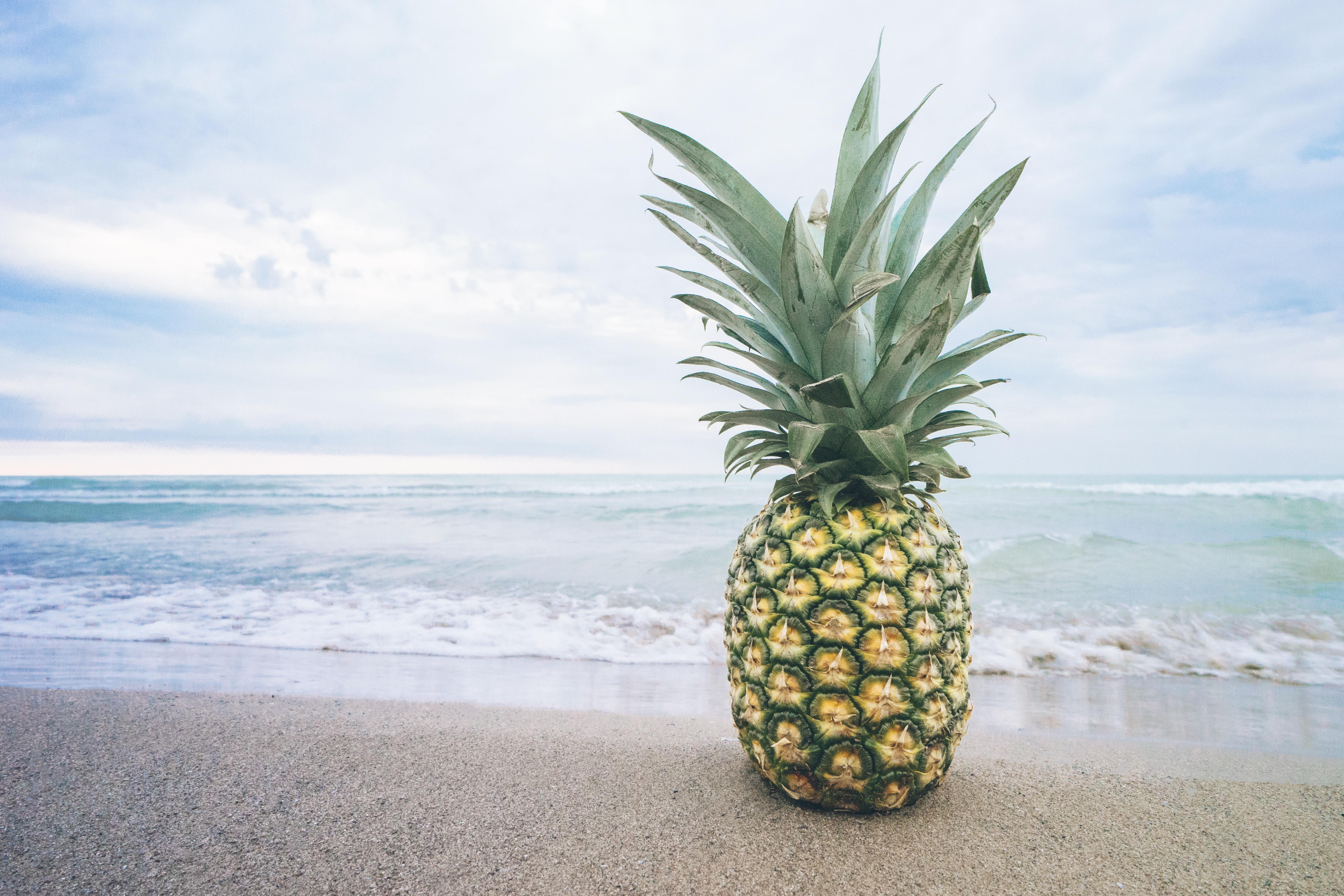 яркие летние картинки ананас интимные