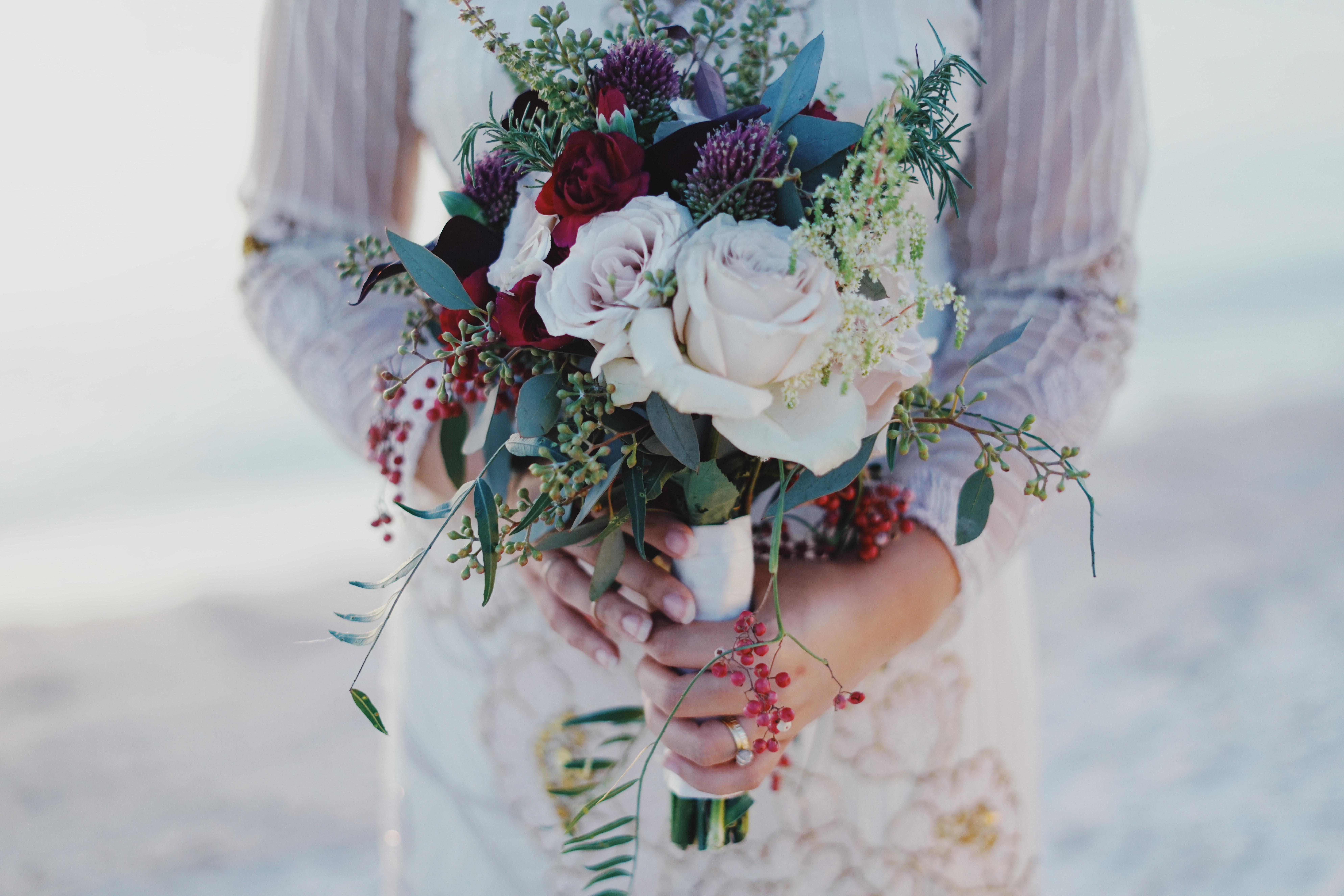 Poze Frumoasa înflorit De Mireasă Celebrare Ceremonie A