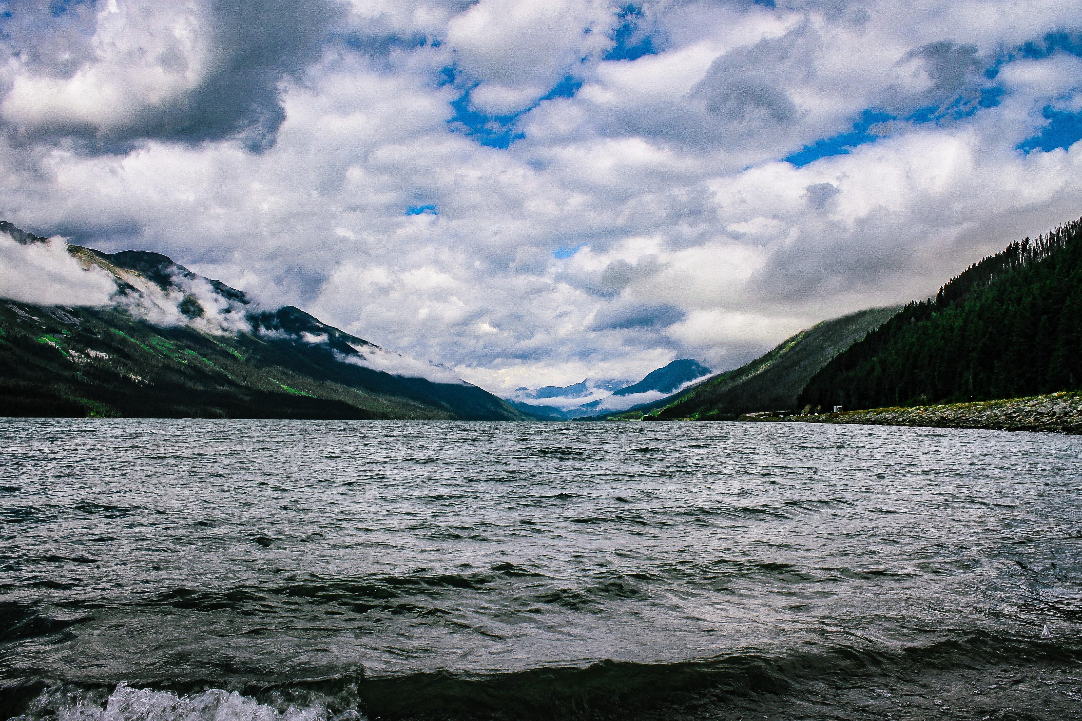 Gambar Keindahan Di Alam Badan Air Perairan Tenang