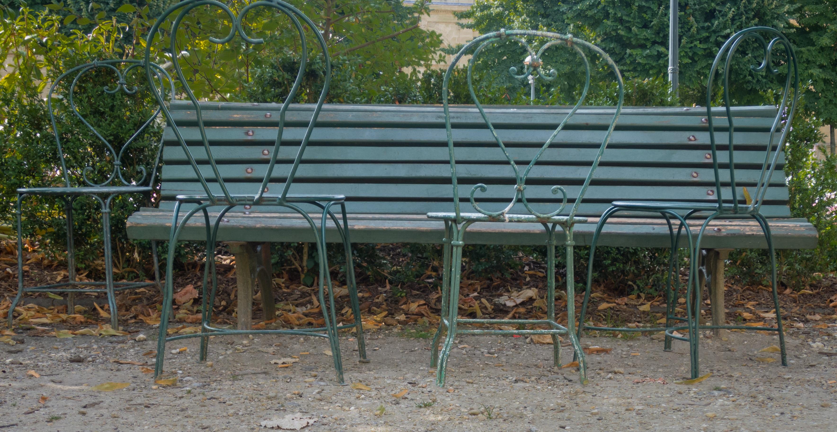 Fotos gratis : banco, parque, mueble, sillas, Banco de jardín ...